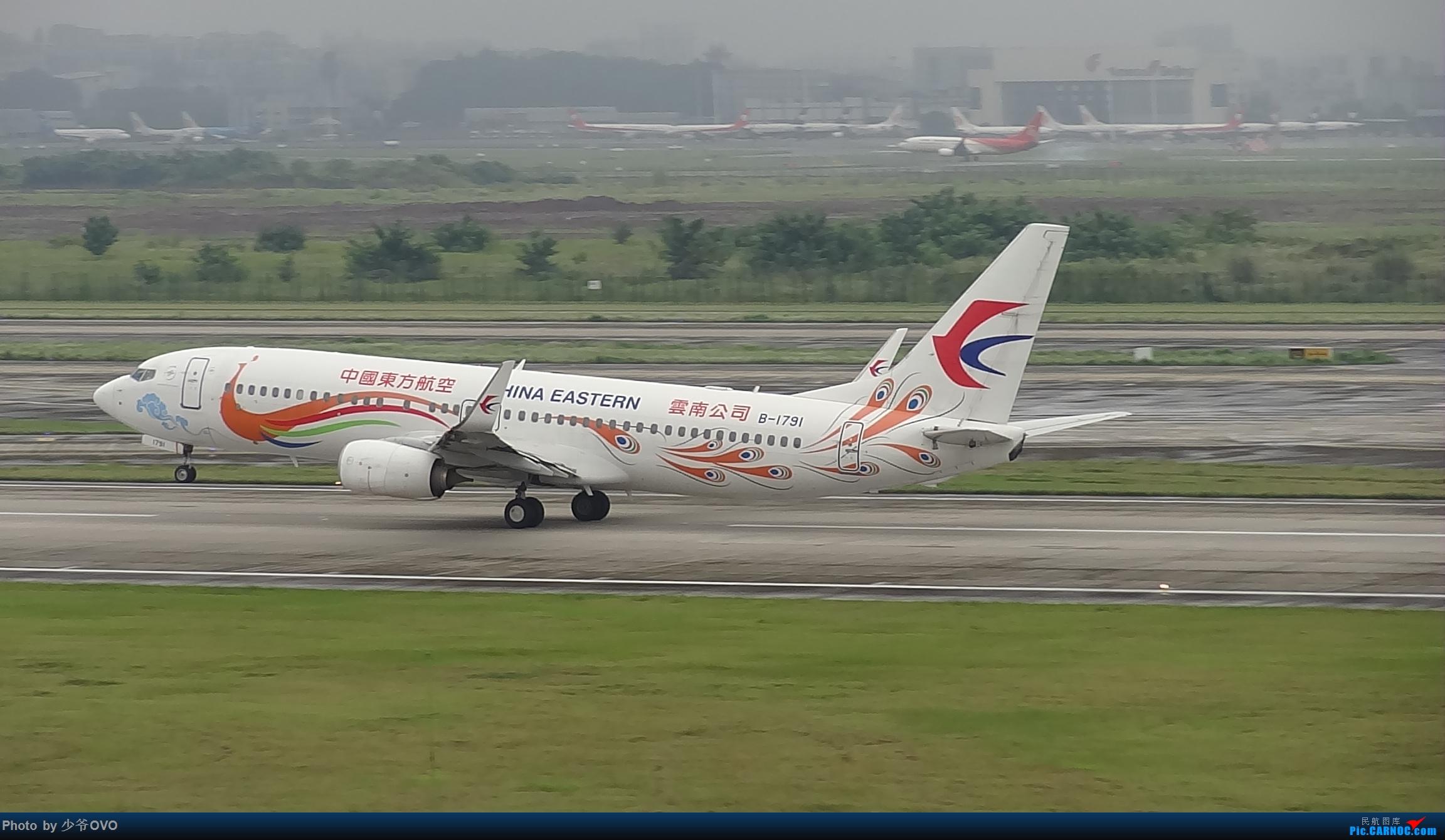 Re:[原创]CKG重庆江北机场拍机 ,中法建交50周年 BOEING 737-800 B-1791 中国重庆江北国际机场