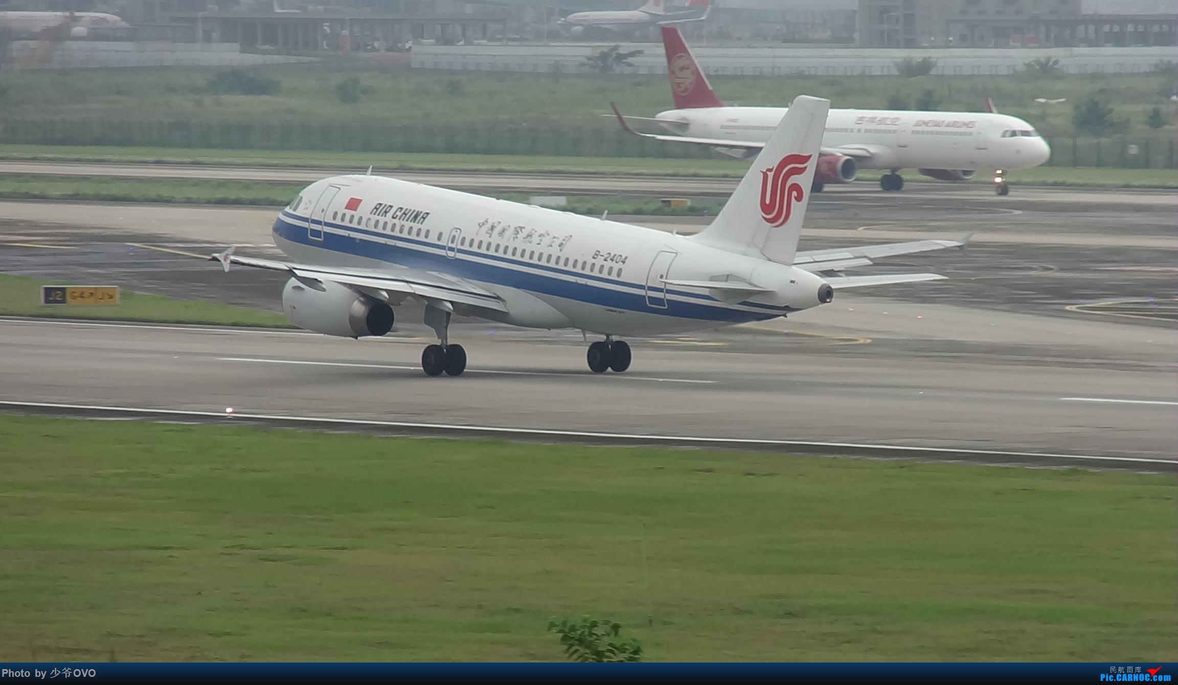Re:[原创]CKG重庆江北机场拍机 ,中法建交50周年 AIRBUS A319-100 B-2404 中国重庆江北国际机场