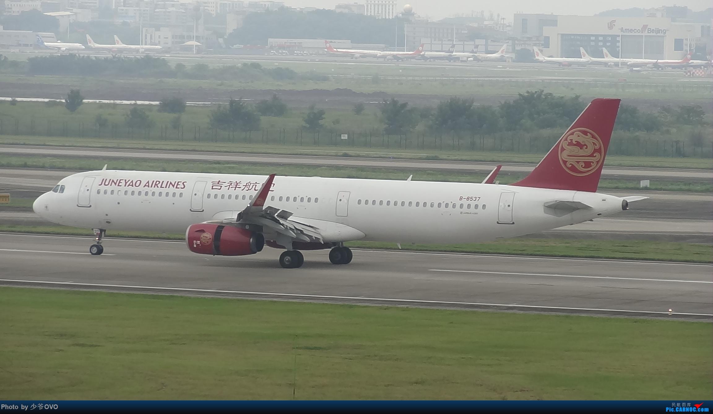 Re:[原创]CKG重庆江北机场拍机 ,中法建交50周年 AIRBUS A321-200 B-8537 中国重庆江北国际机场