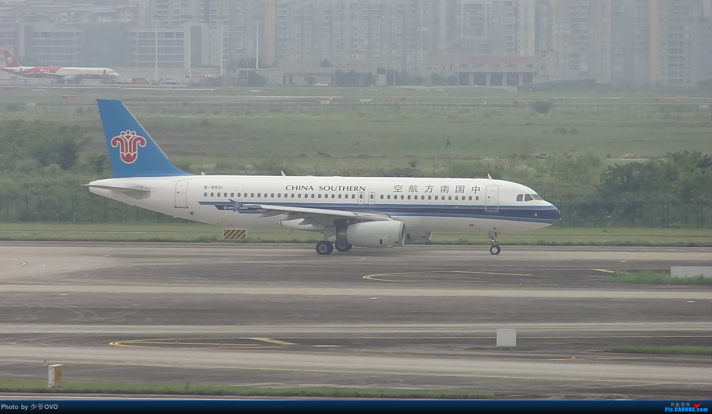 Re:[原创]CKG重庆江北机场拍机 ,中法建交50周年 AIRBUS A320-200 B-9931 中国重庆江北国际机场
