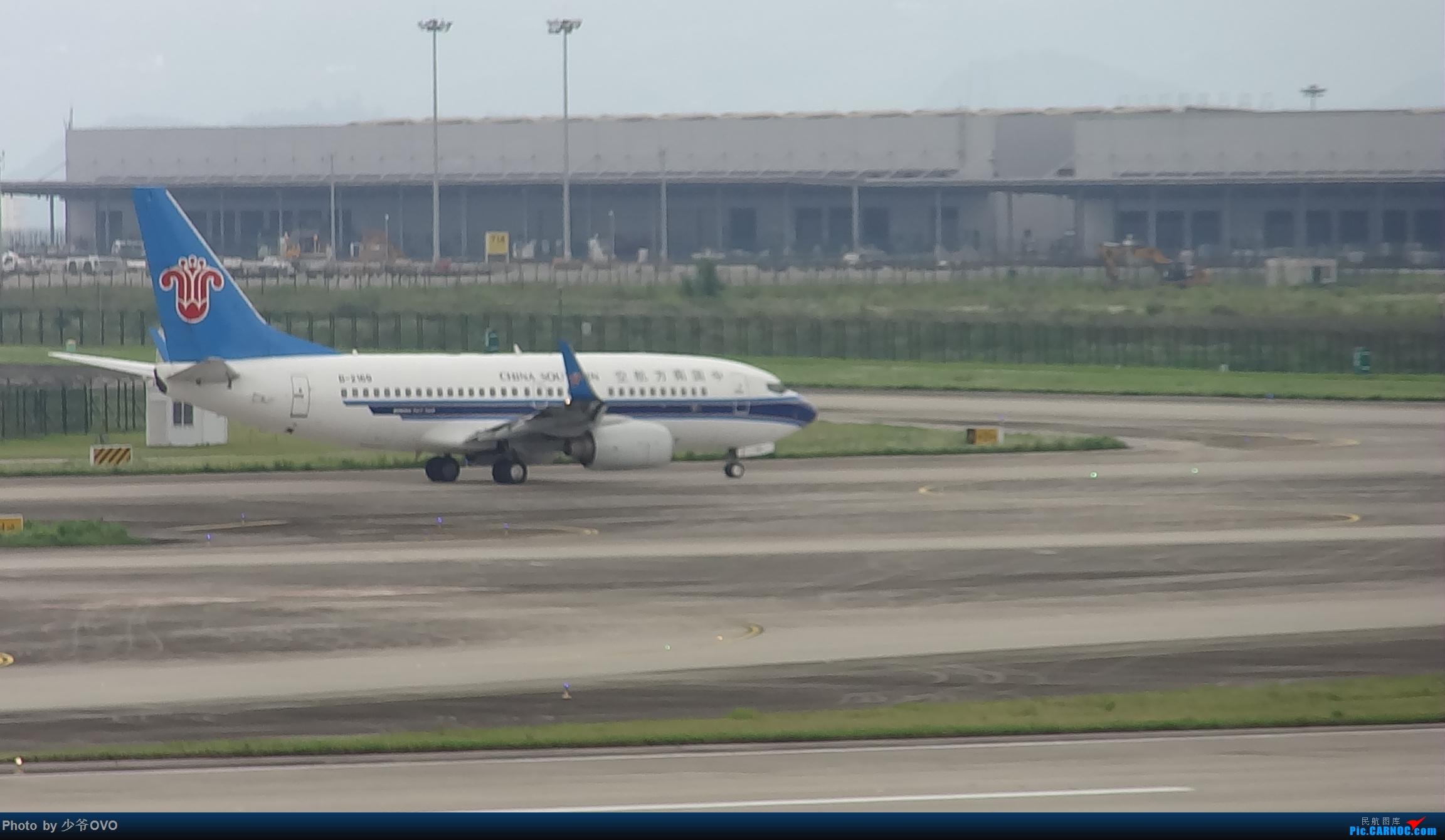 Re:[原创]CKG重庆江北机场拍机 ,中法建交50周年 BOEING 737-700 B-2169 中国重庆江北国际机场