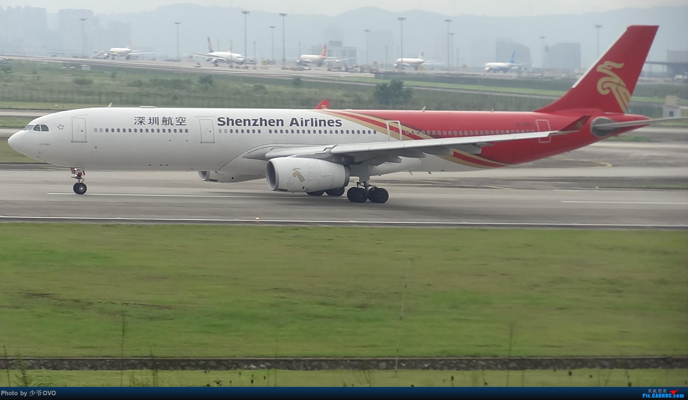 Re:[原创]CKG重庆江北机场拍机 ,中法建交50周年 AIRBUS A330-300 B-1017 中国重庆江北国际机场