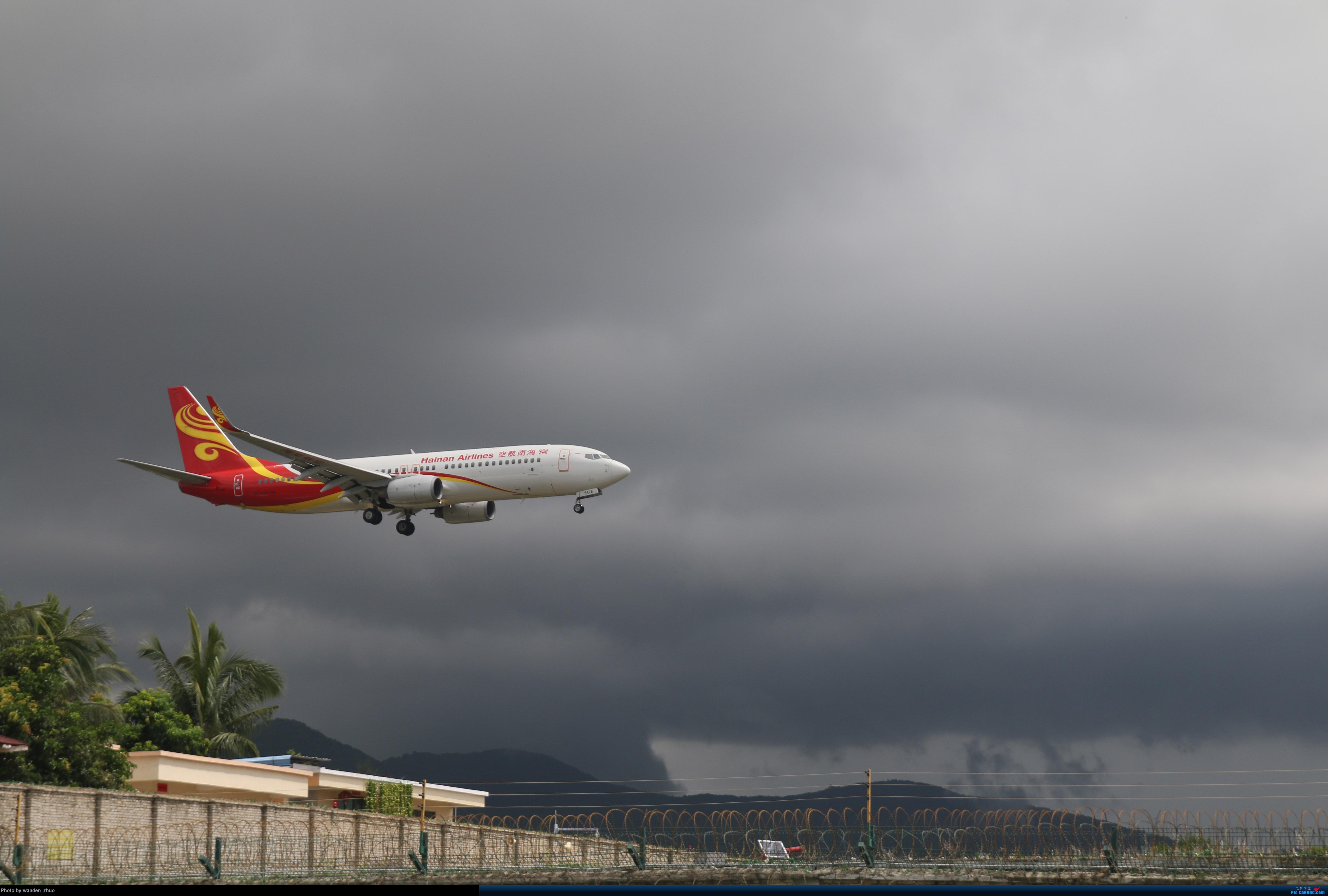 Re:[原创]人生第一次在机场拍机,献给三亚凤凰机场 BOEING 737-800 B-5478 中国三亚凤凰国际机场