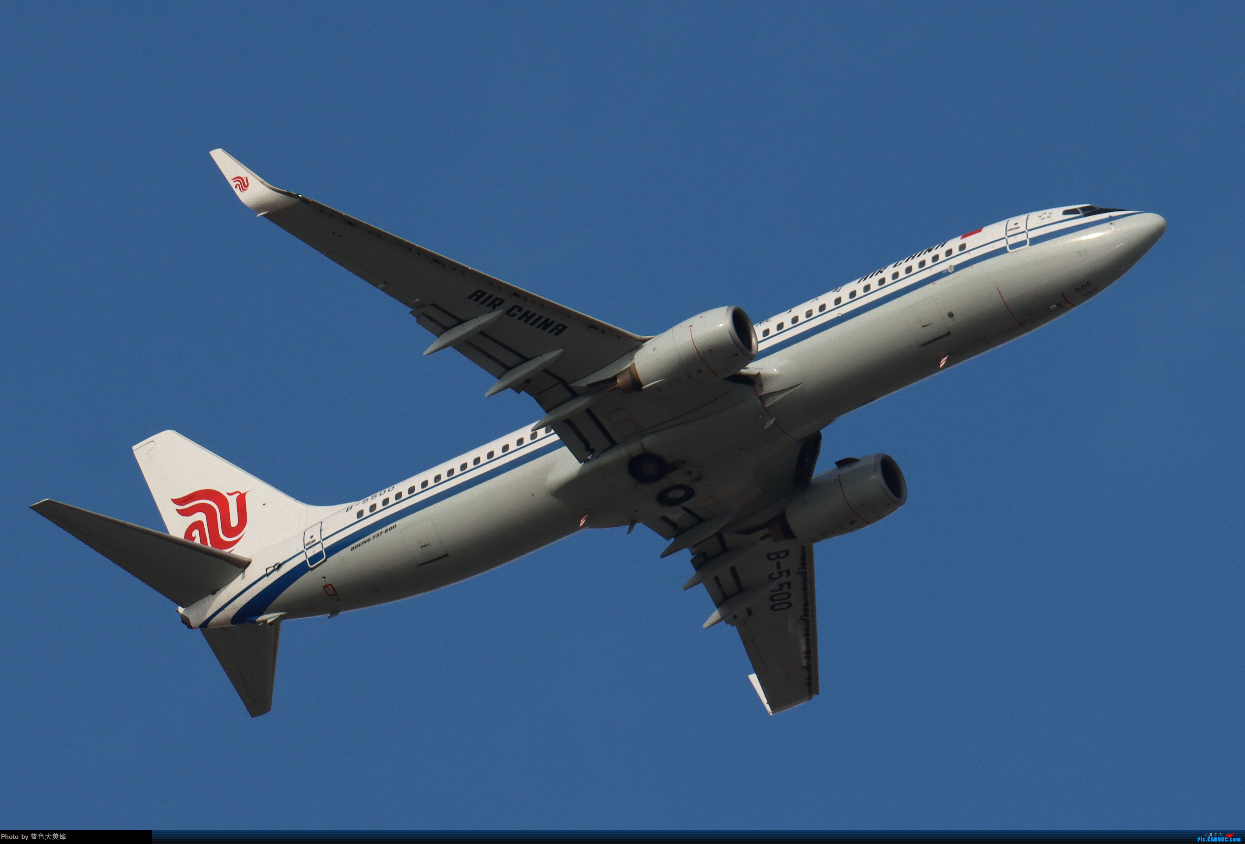 Re:[原创]PEK5.24随拍 BOEING 737-800 B-5500 中国北京首都国际机场