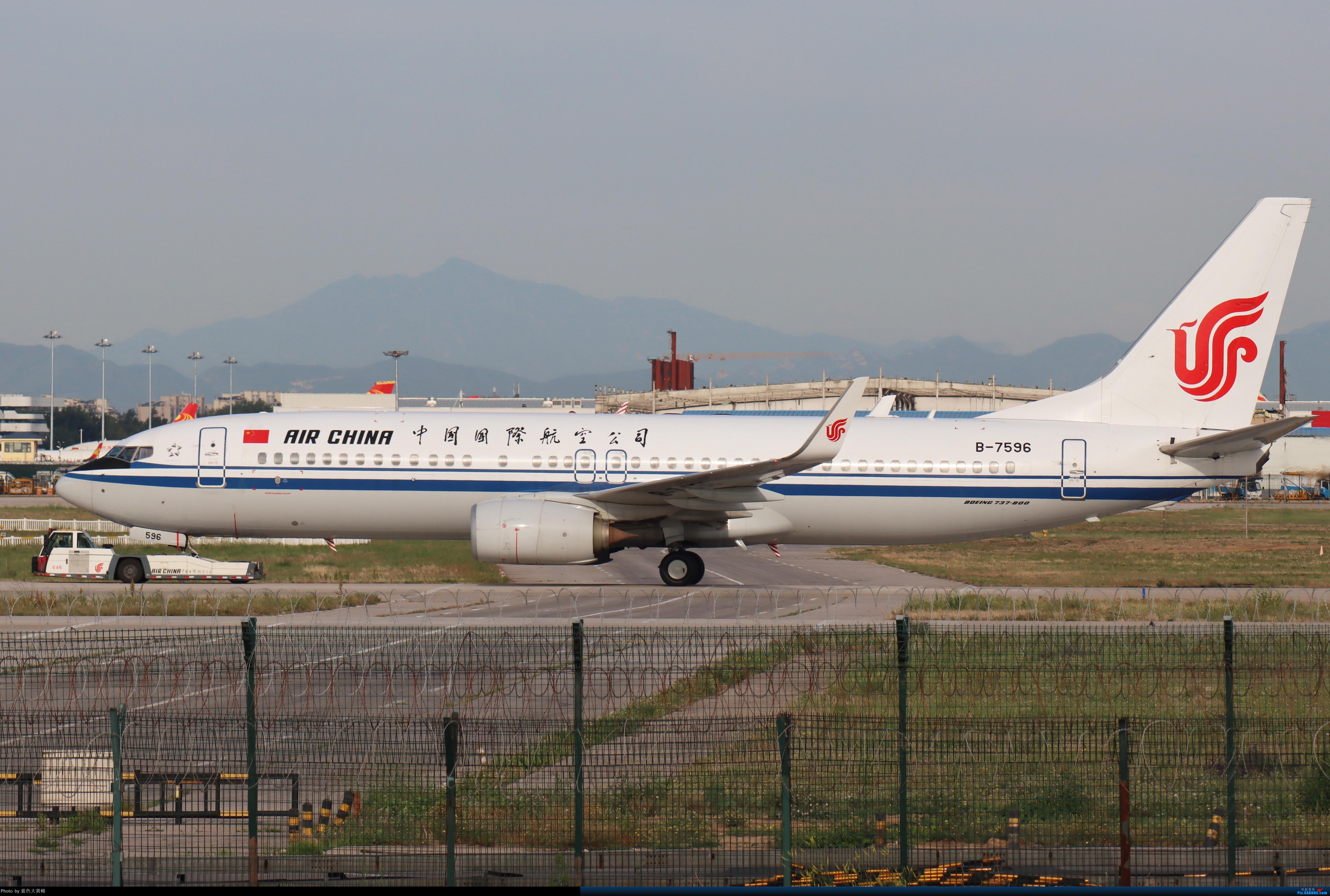 Re:[原创]PEK5.24随拍 BOEING 737-800 B-7596 中国北京首都国际机场