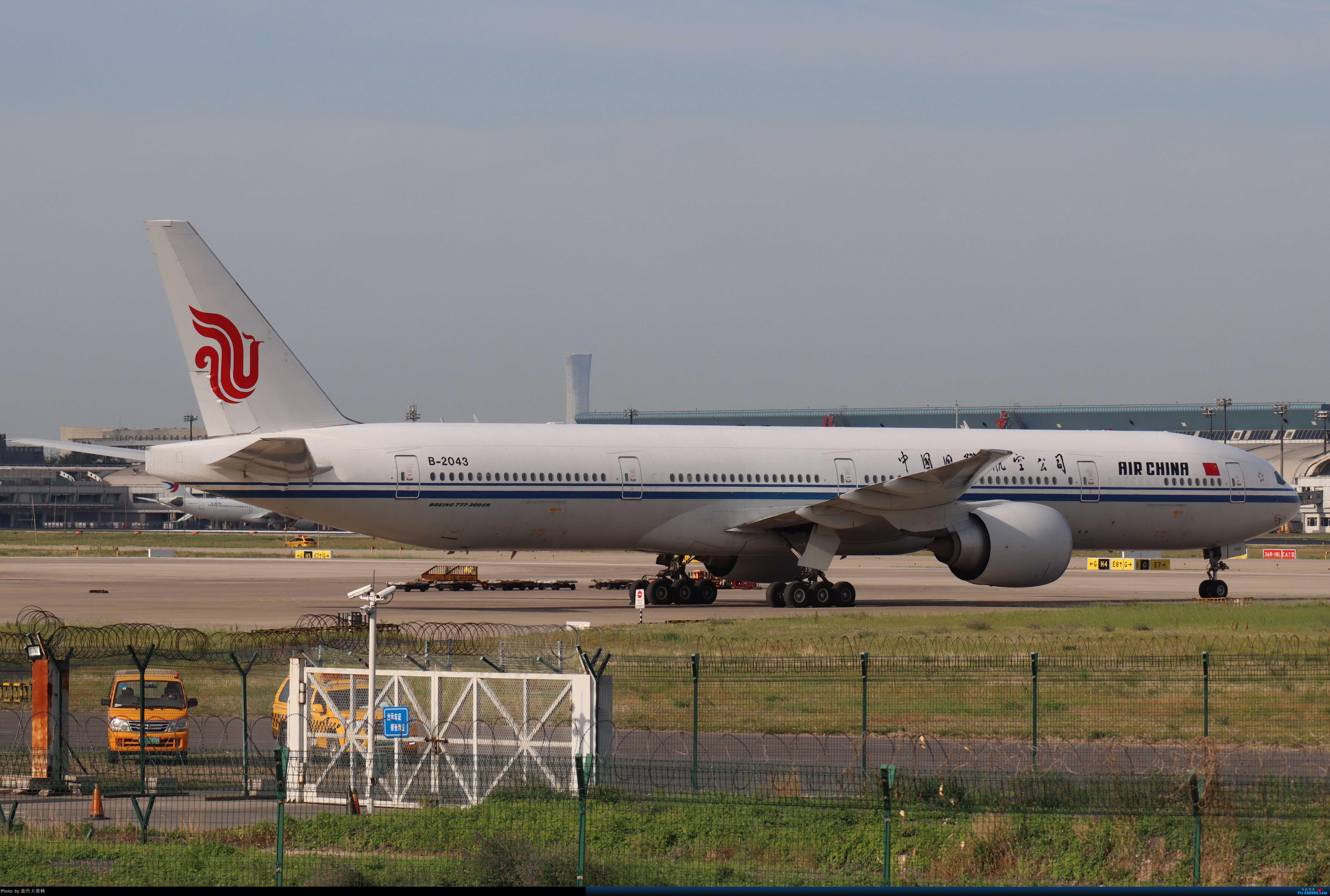 Re:[原创]PEK5.24随拍 BOEING 777-300ER B-2043 中国北京首都国际机场