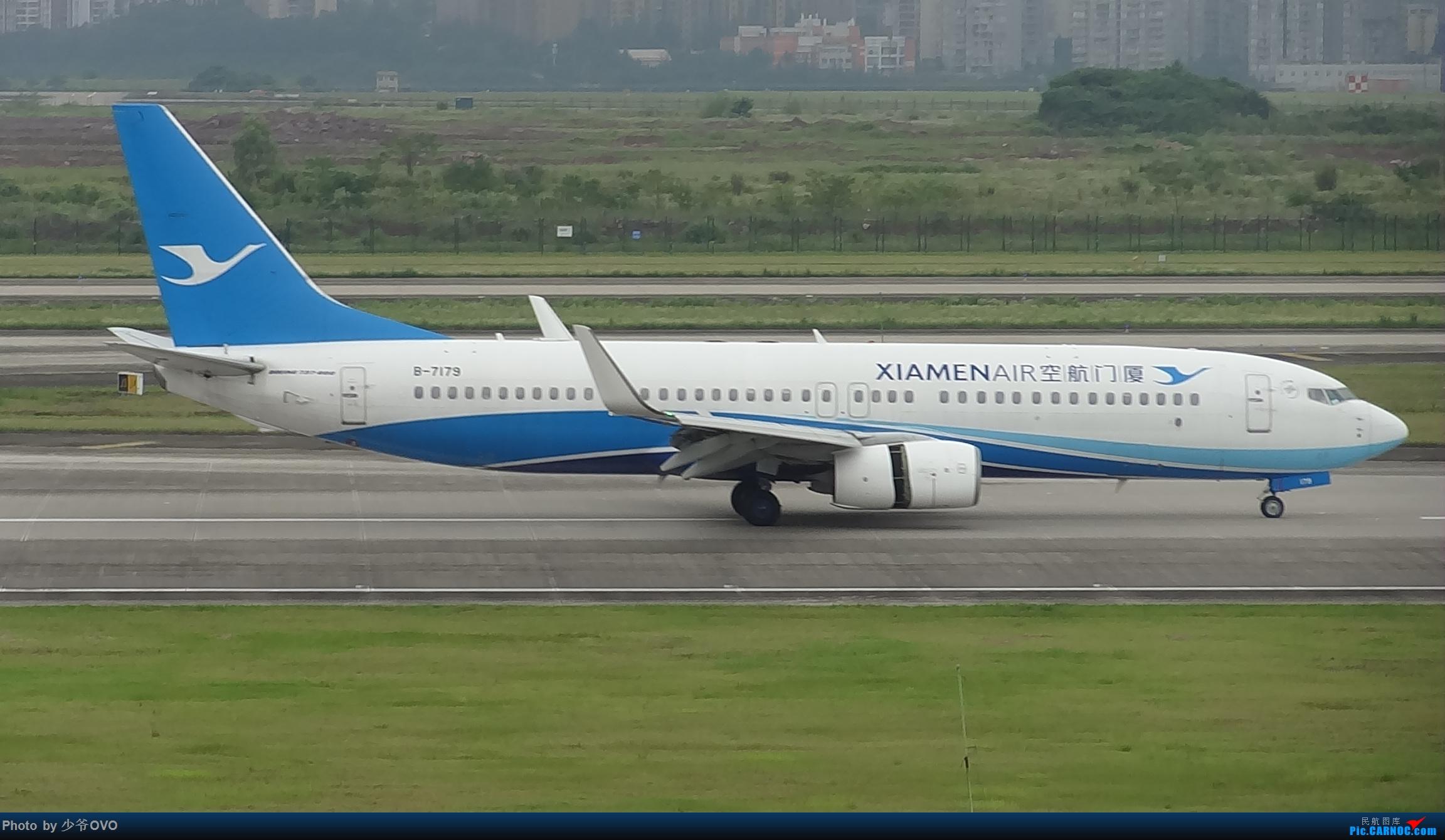 Re:[原创]CKG重庆江北机场拍机 BOEING 737-800 B-7179 中国重庆江北国际机场