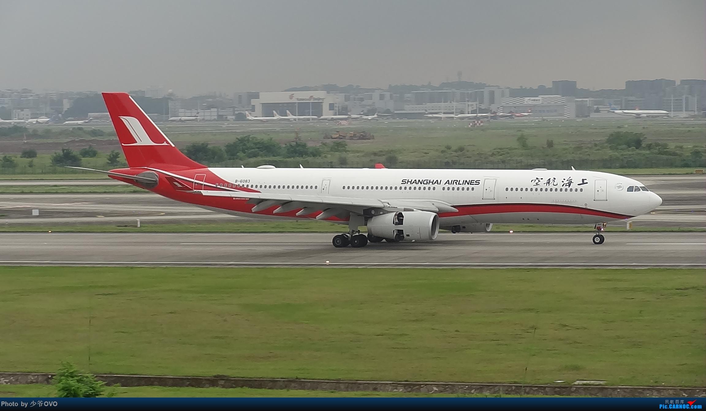 Re:[原创]CKG重庆江北机场拍机 AIRBUS A330-300 B-6083 中国重庆江北国际机场