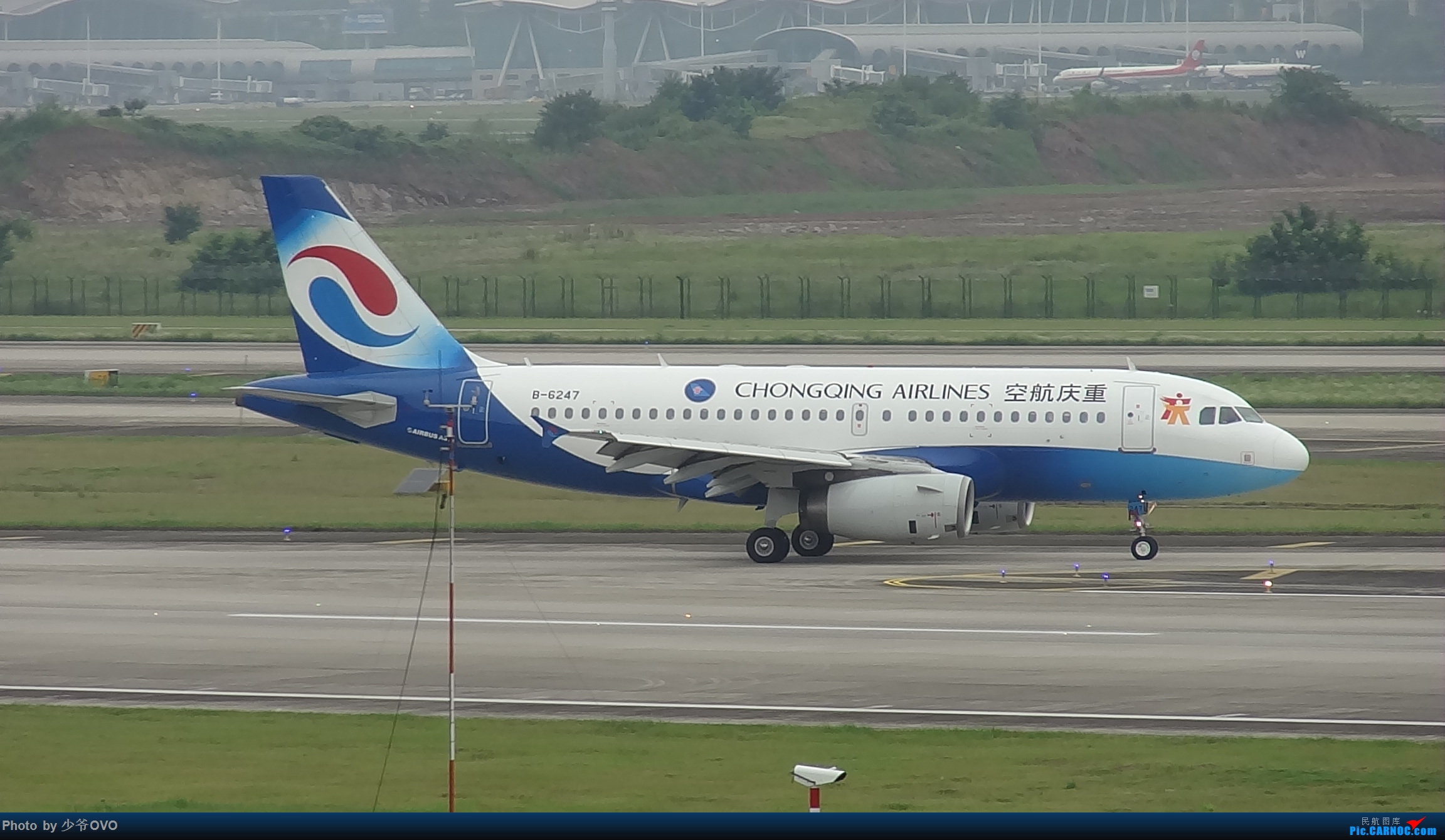 Re:[原创]CKG重庆江北机场拍机 AIRBUS A319-100 B-6247 中国重庆江北国际机场