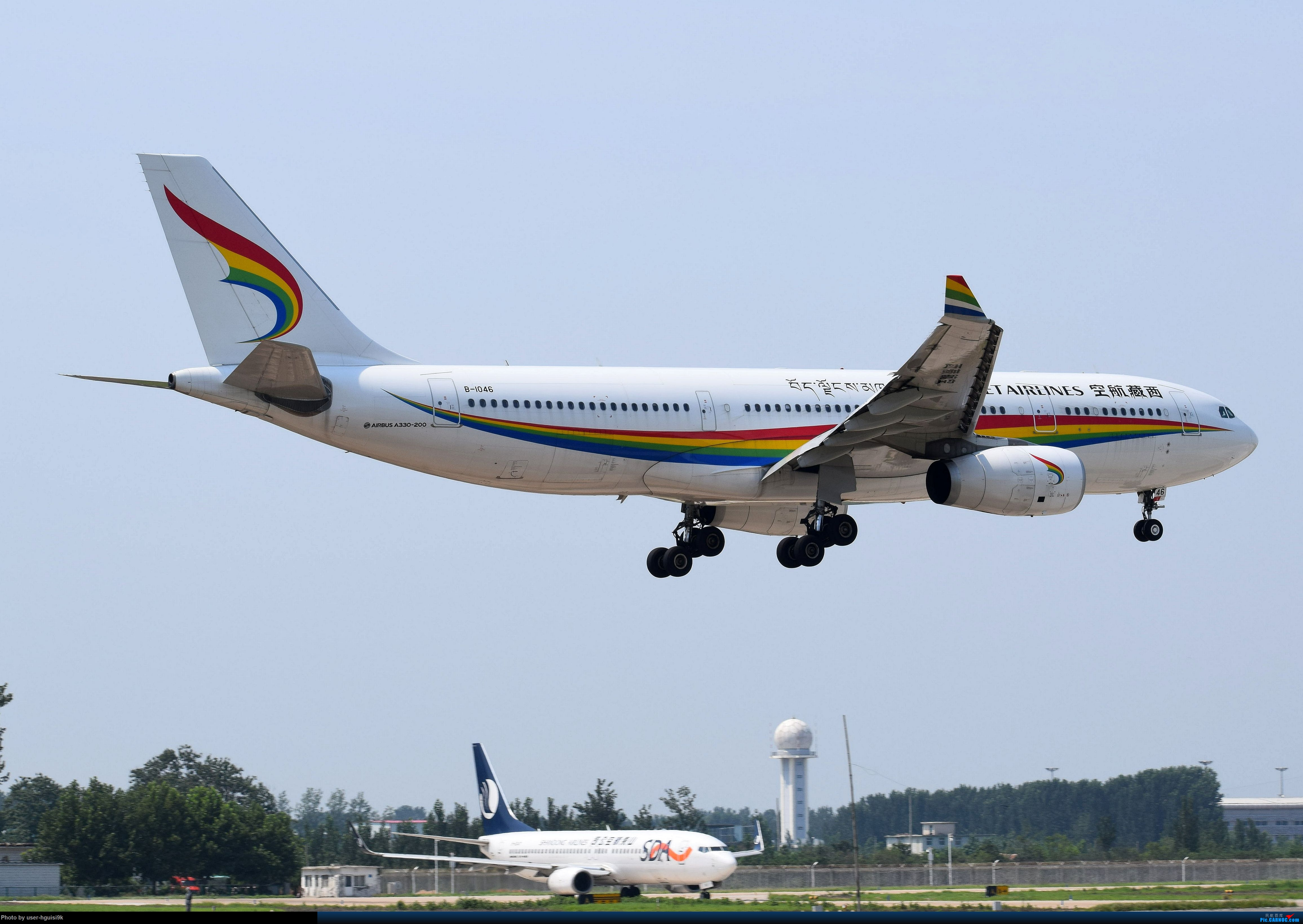 Re:[原创]济南遥墙机场拍机杂图。 AIRBUS A330 B-1046 中国济南遥墙国际机场