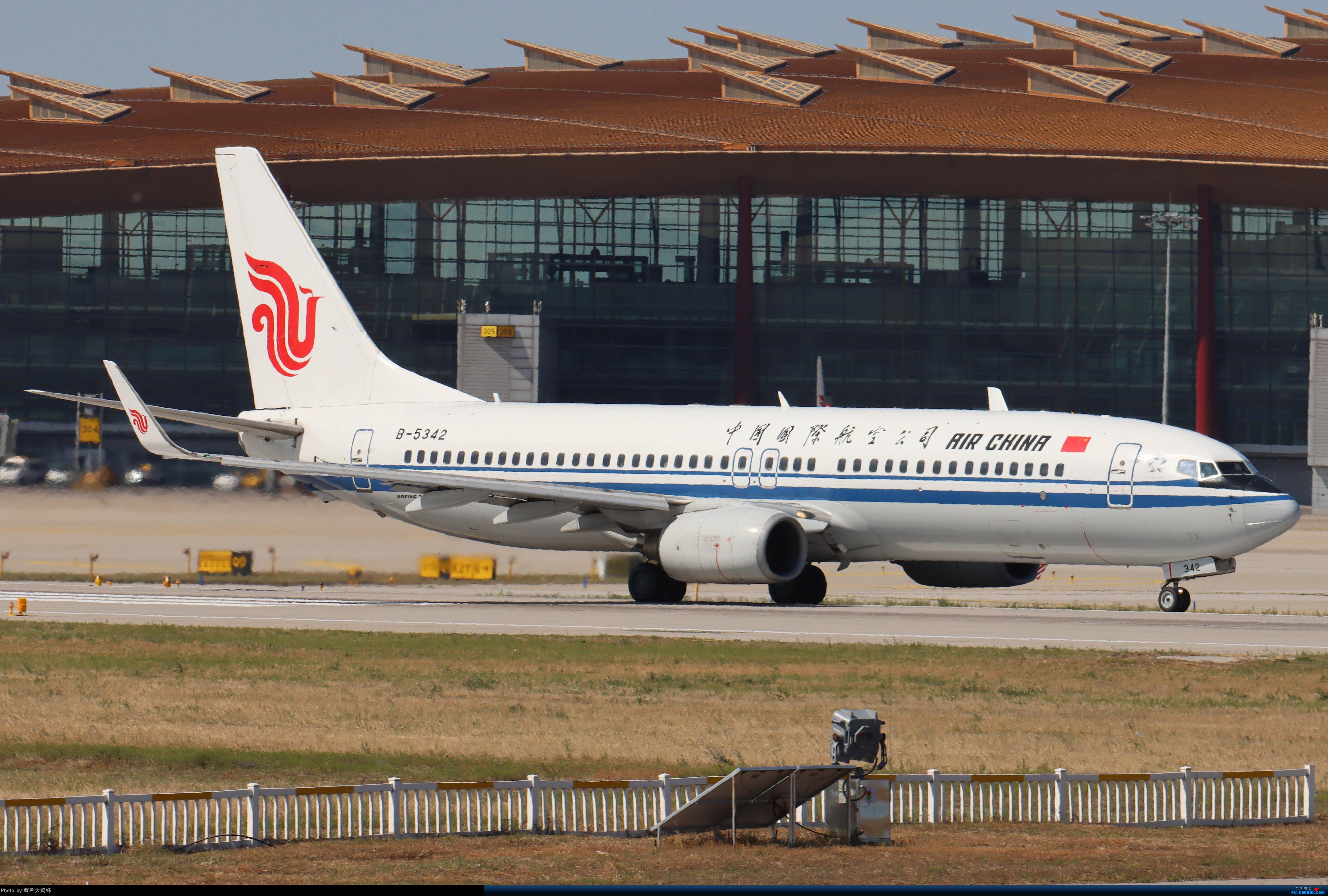 Re:[原创]PEK5.24随拍 BOEING 737-800 B-5342 中国北京首都国际机场