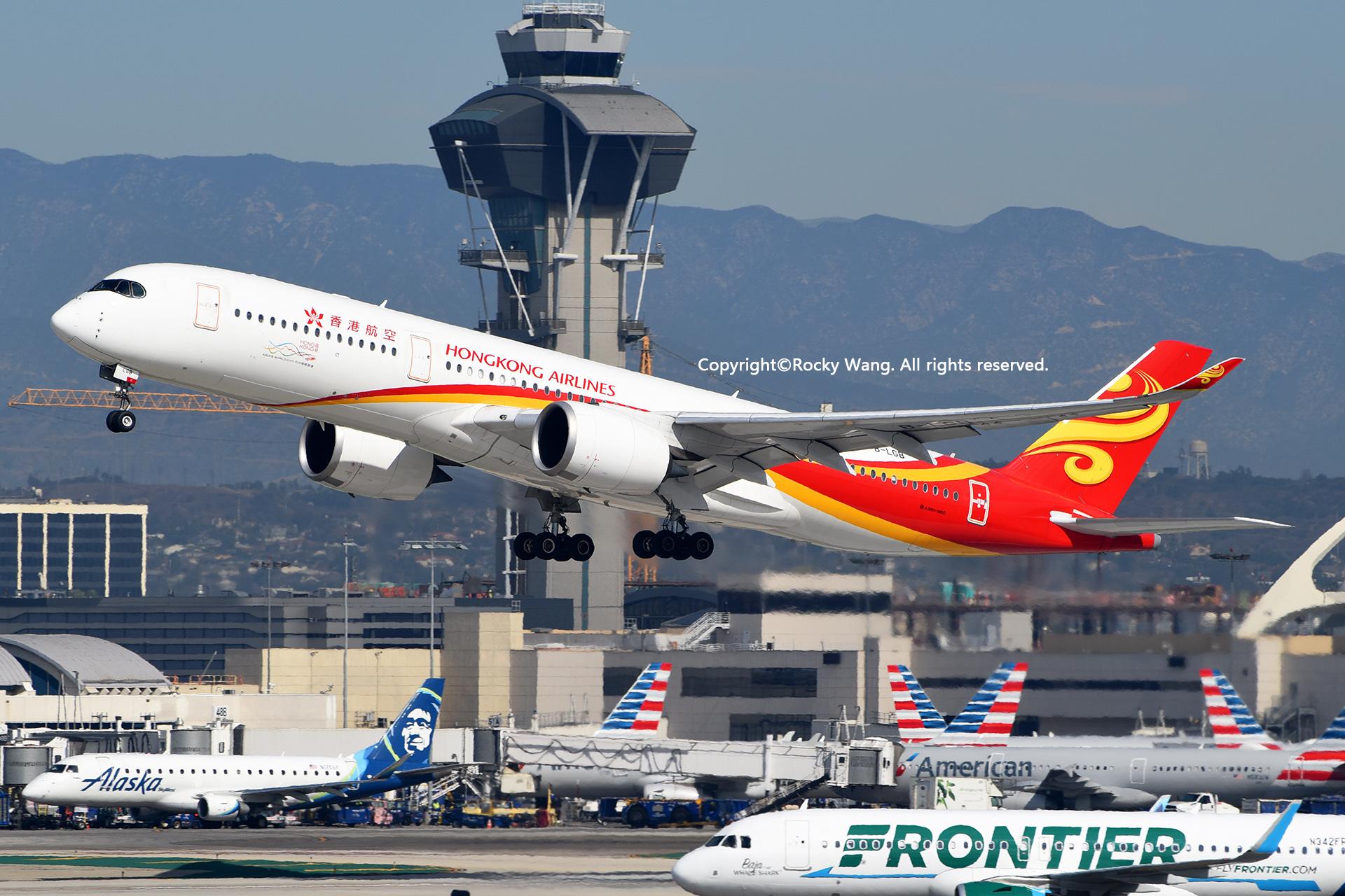 Re:[原创]LAX-暖冬与残夏 AIRBUS A350-941 B-LGB Los Angeles Int'l Airport