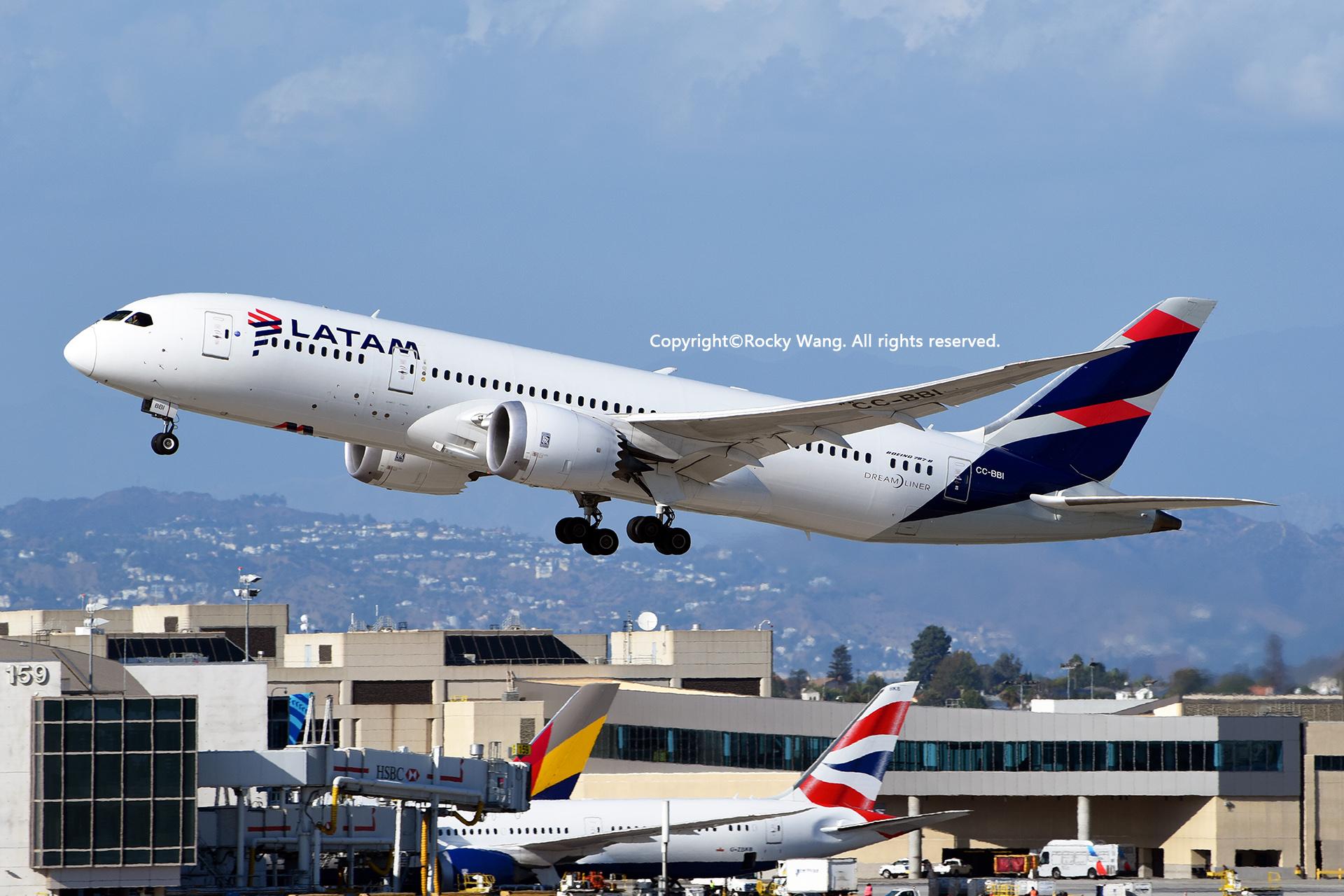 Re:[原创]LAX-暖冬与残夏 BOEING 787-8 DREAMLINER CC-BBI Los Angeles Int'l Airport