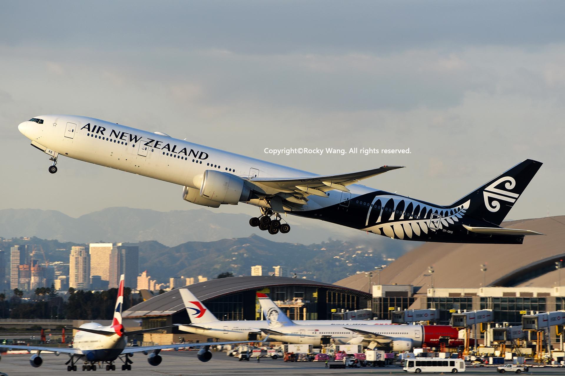 Re:[原创]LAX-暖冬与残夏 BOEING 777-319ER ZK-OKS Los Angeles Int'l Airport