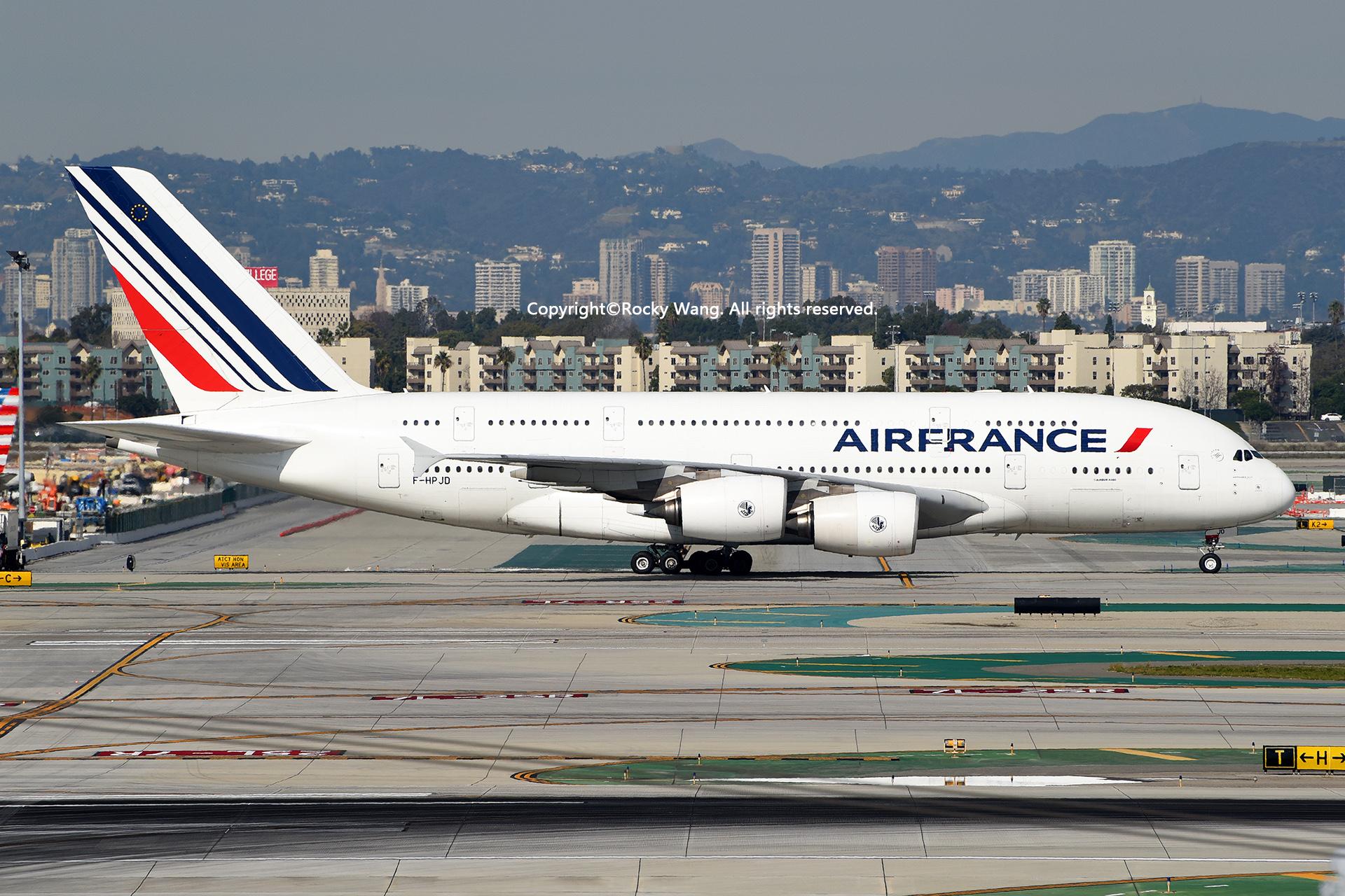 Re:[原创]LAX-暖冬与残夏 AIRBUS A380-861 F-HPJD Los Angeles Int'l Airport