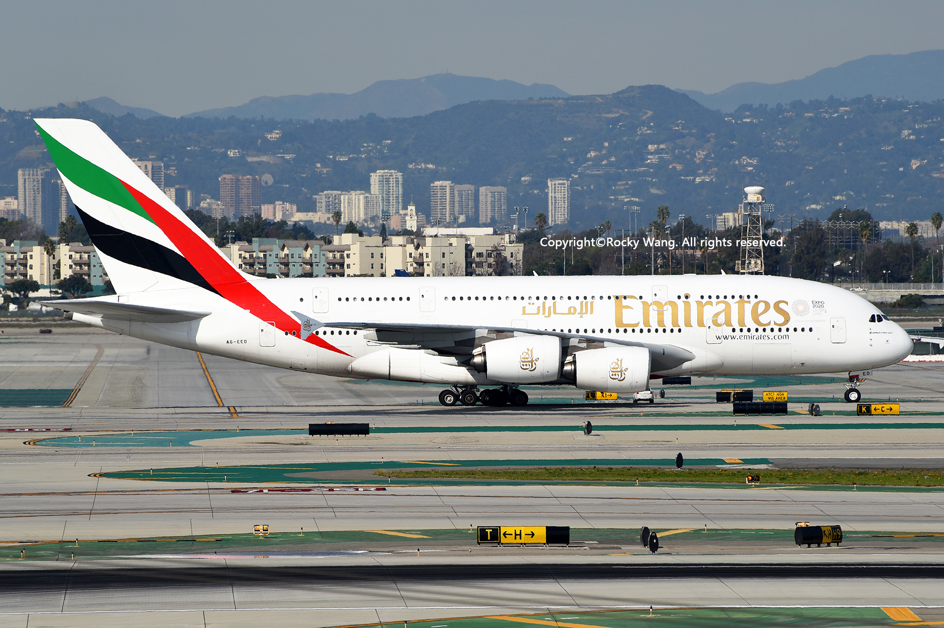 Re:[原创]LAX-暖冬与残夏 AIRBUS A380-861 A6-EEO Los Angeles Int'l Airport