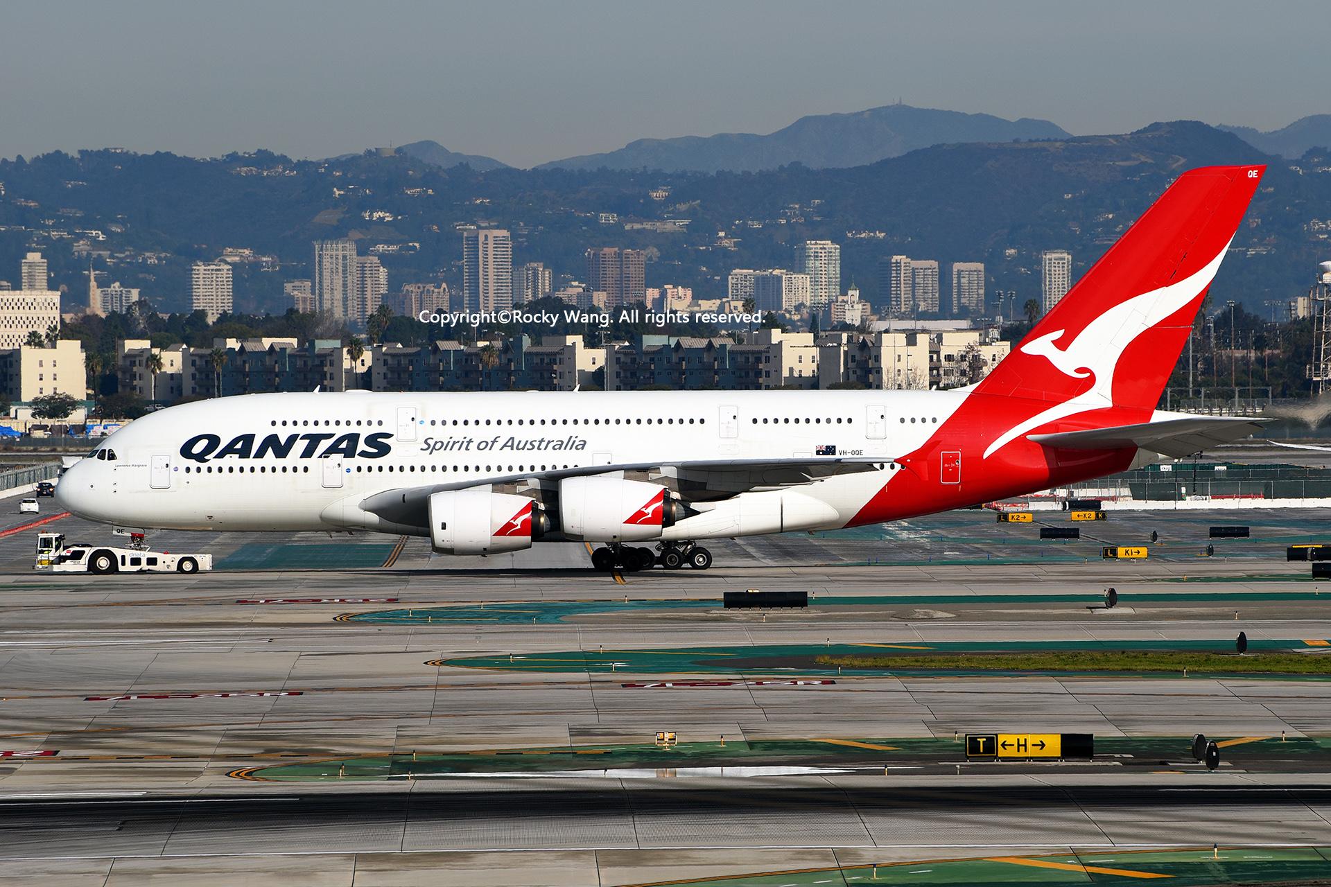 Re:[原创]LAX-暖冬与残夏 AIRBUS A380-842 VH-OQE Los Angeles Int'l Airport