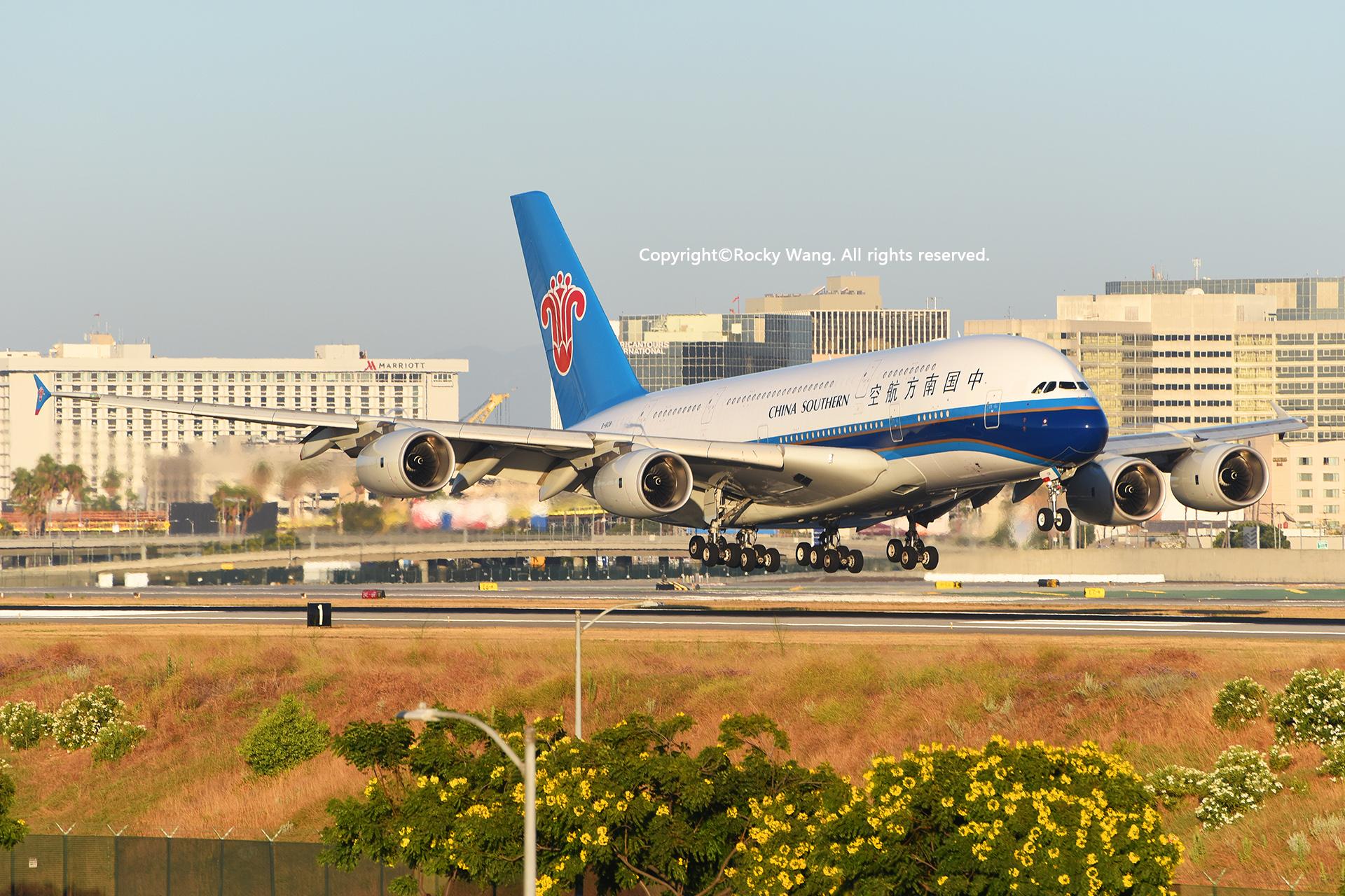 Re:[原创]LAX-暖冬与残夏 AIRBUS A380-841 B-6138 Los Angeles Int'l Airport