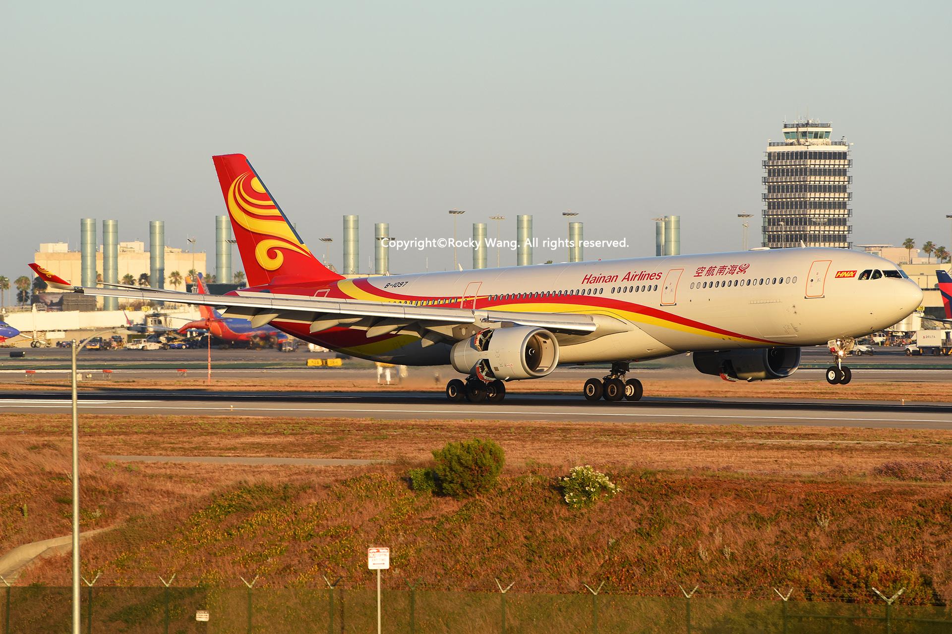 Re:[原创]LAX-暖冬与残夏 AIRBUS A330-343 B-1097 Los Angeles Int'l Airport