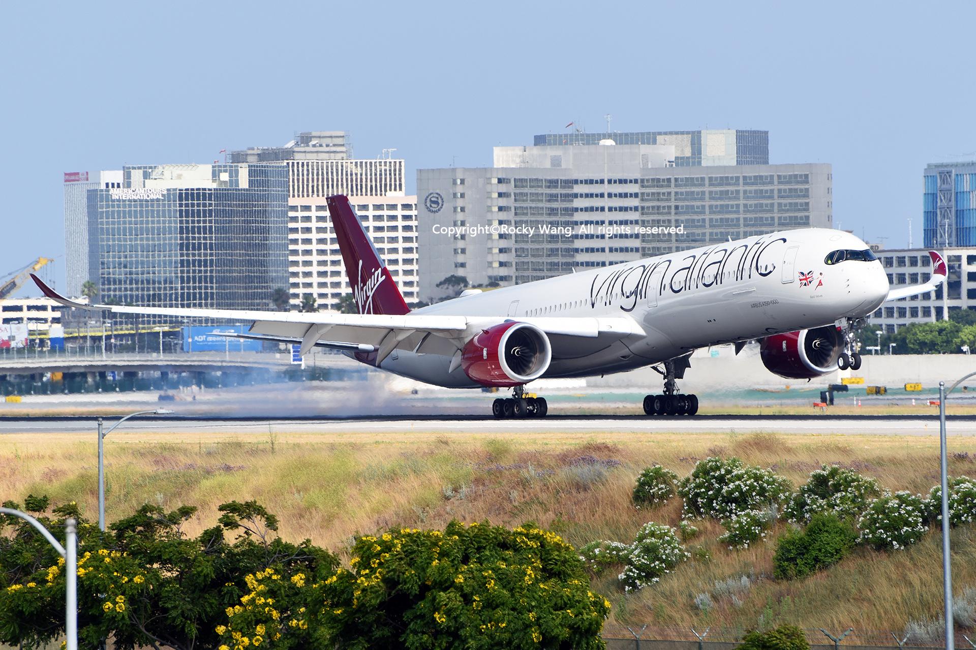 Re:[原创]LAX-暖冬与残夏 AIRBUS A350-1041 G-VLUX Los Angeles Int'l Airport