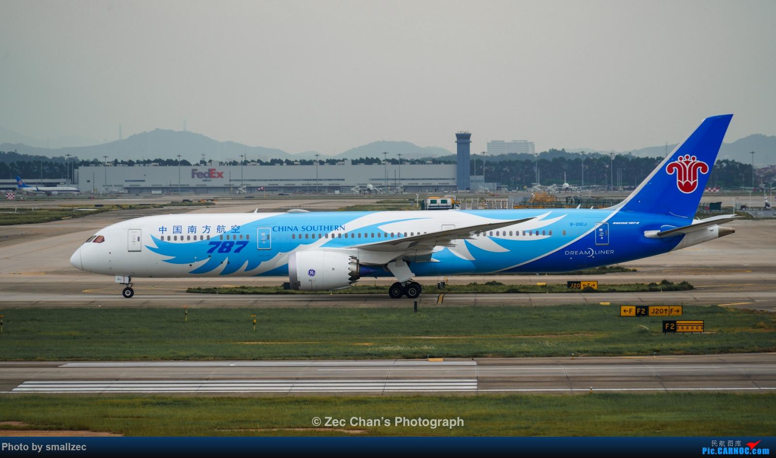[原创]【CAN】久违了,2020首次西跑拍机集锦 BOEING 787-9 B-20CJ 中国广州白云国际机场