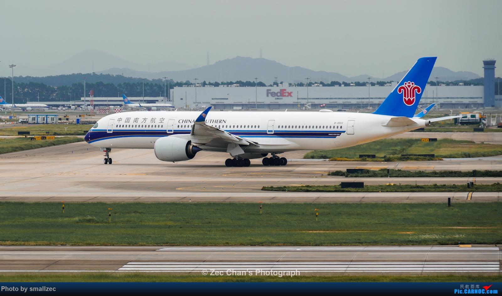 Re:[原创]【CAN】久违了,2020首次西跑拍机集锦 AIRBUS A350-900 B-30C0 中国广州白云国际机场