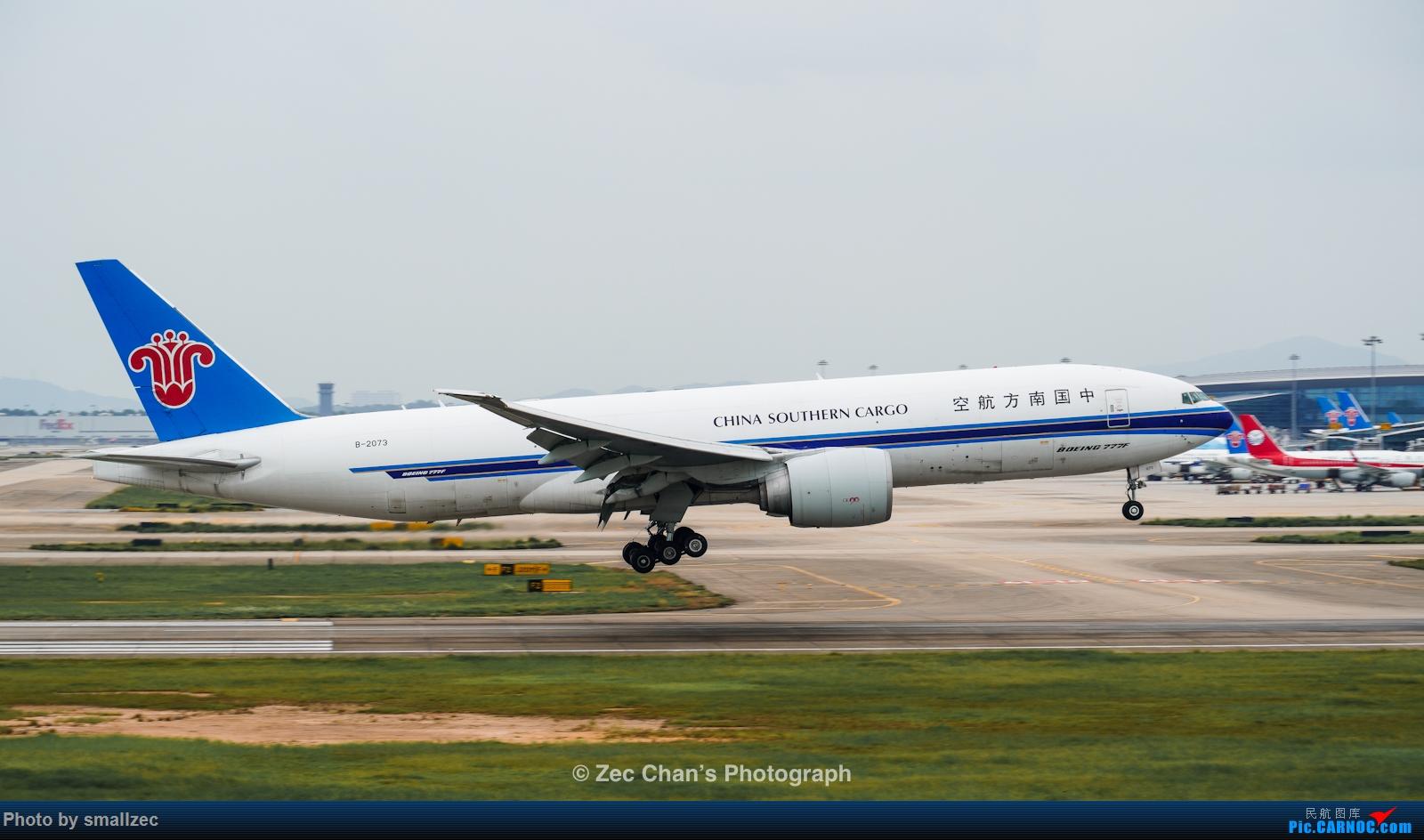 Re:[原创]【CAN】久违了,2020首次西跑拍机集锦 BOEING 777F B-2073 中国广州白云国际机场