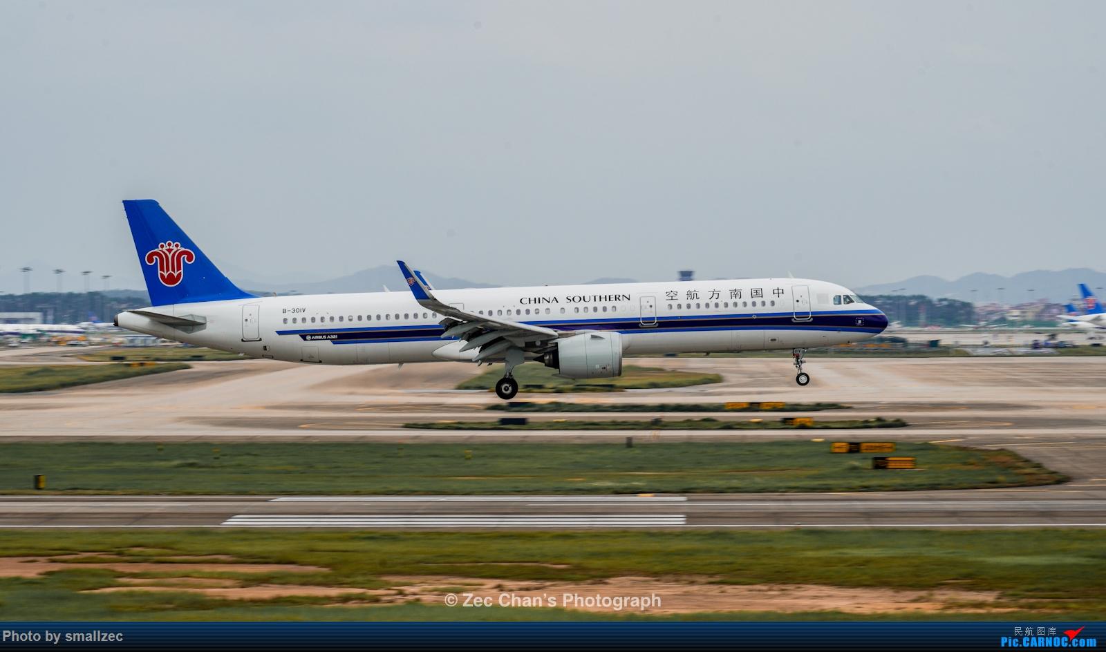 Re:[原创]【CAN】久违了,2020首次西跑拍机集锦 AIRBUS A321NEO B-301V 中国广州白云国际机场