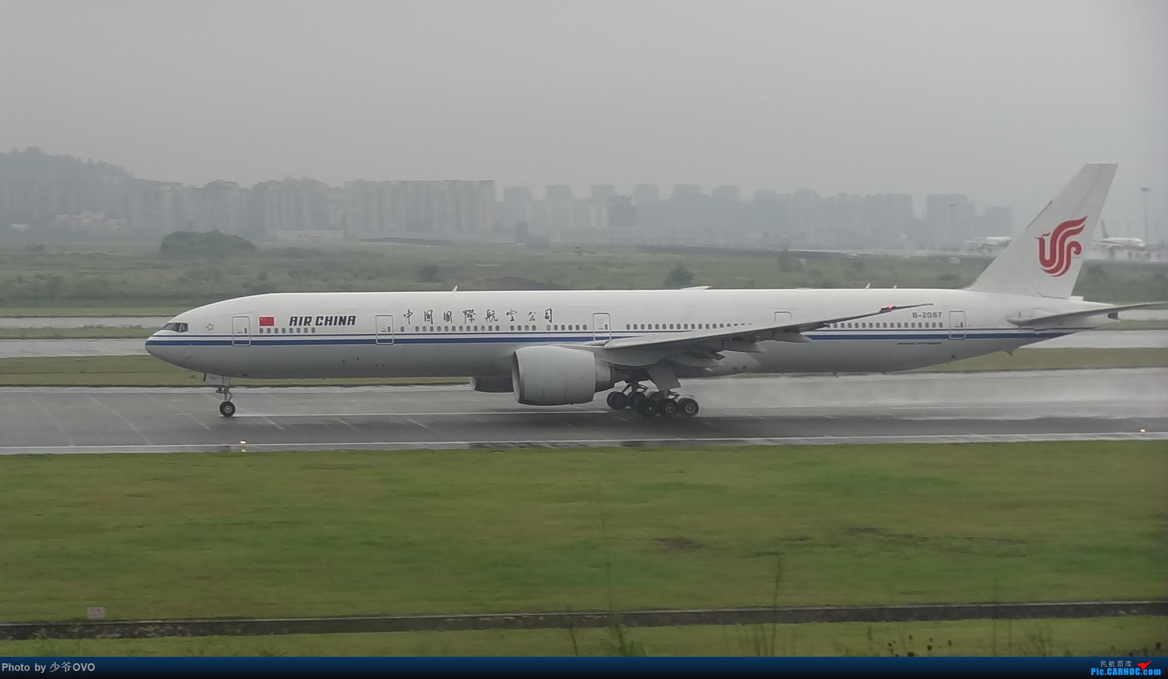 Re:[原创]CKG重庆江北机场拍机 BOEING 777-300ER B-2087 中国重庆江北国际机场
