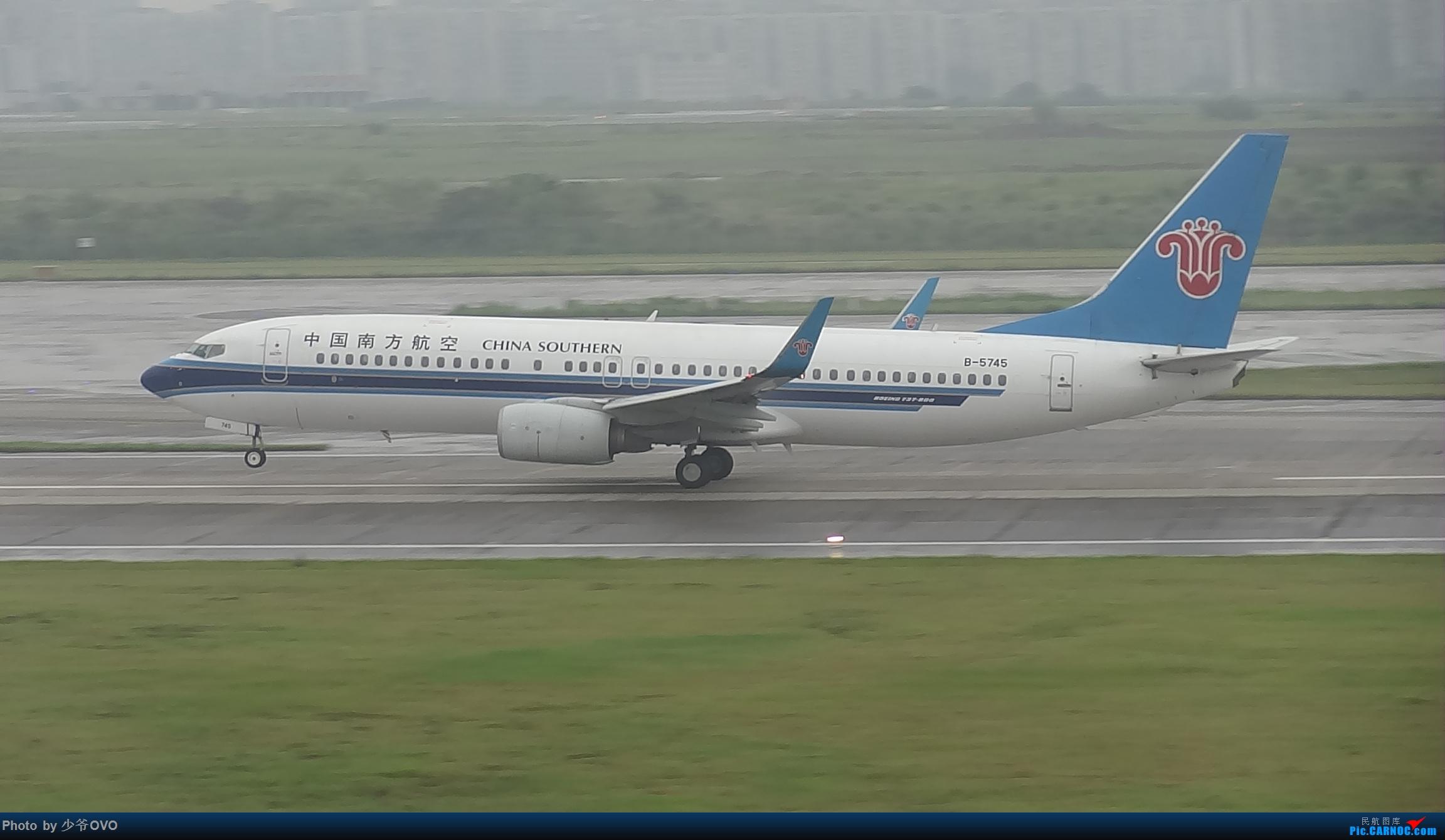 Re:[原创]CKG重庆江北机场拍机 BOEING 737-800 B-5745 中国重庆江北国际机场
