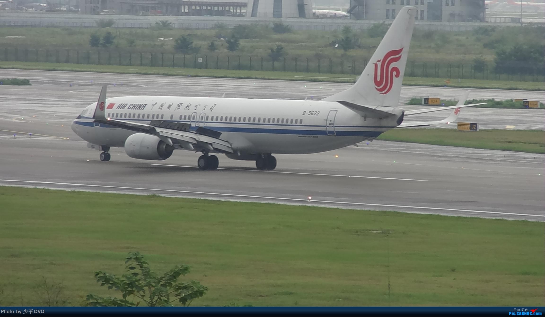 Re:[原创]CKG重庆江北机场拍机 BOEING 737-800 B-5582 中国重庆江北国际机场