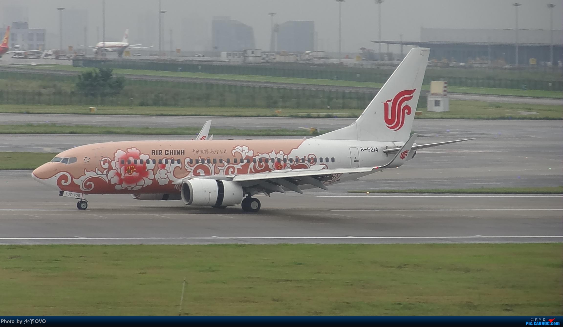 Re:[原创]CKG重庆江北机场拍机 BOEING 737-700 B-5214 中国重庆江北国际机场