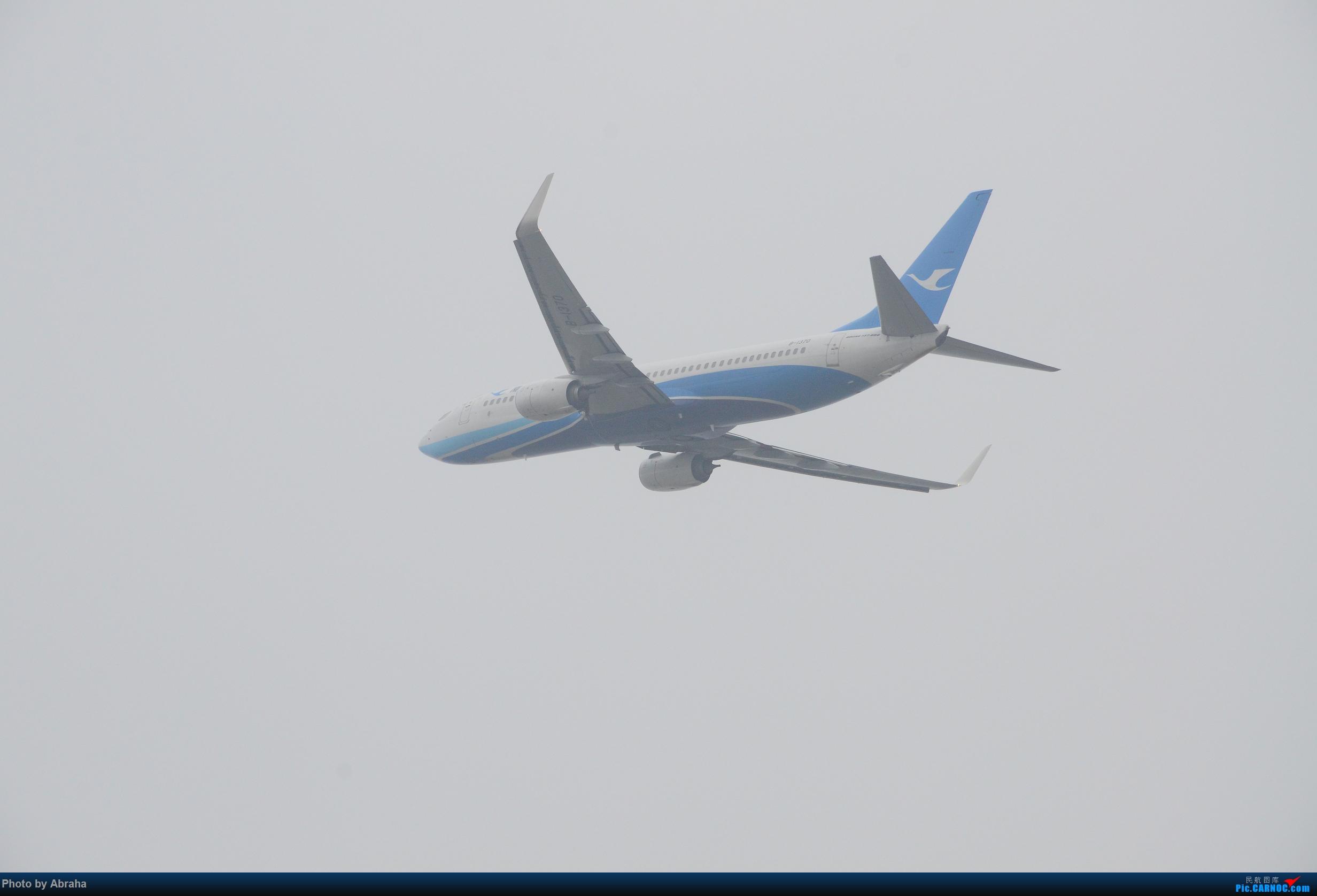 Re:[原创]国庆中的NKG BOEING 737-800 B-1370 nkg
