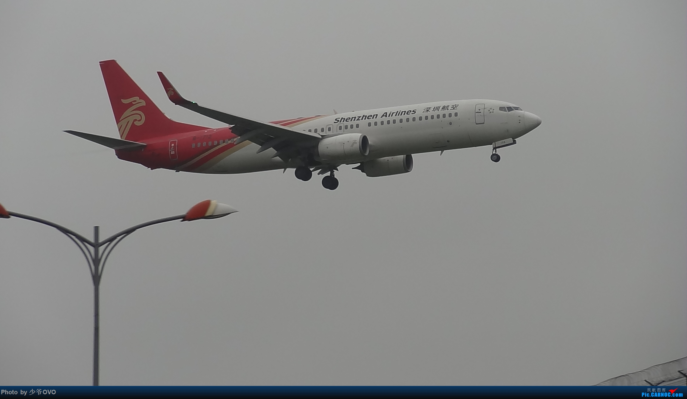 Re:[原创]CKG重庆江北机场拍机 ,渣图一堆,多指点 BOEING 737-800 B-1712 中国重庆江北国际机场