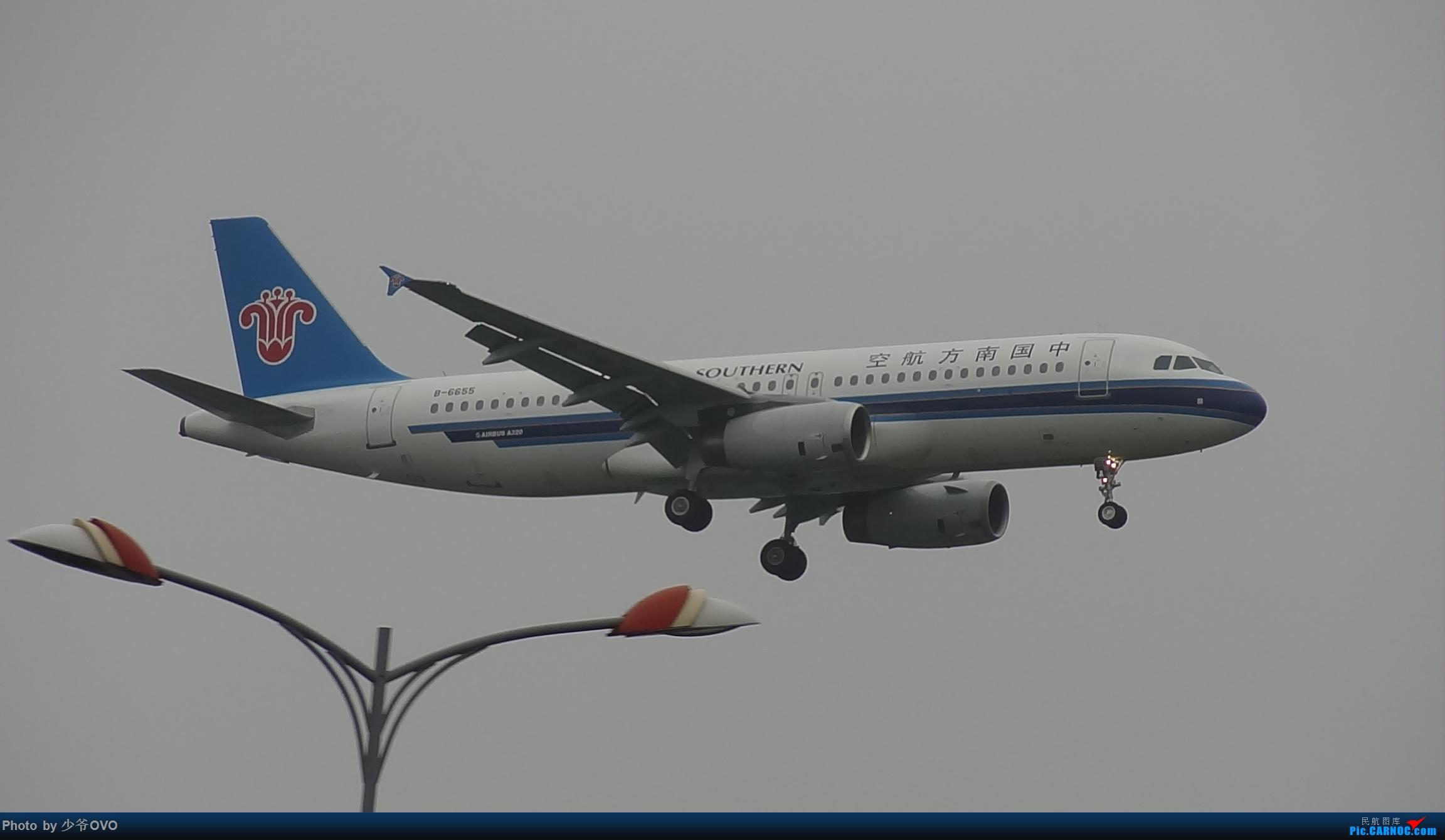 Re:[原创]CKG重庆江北机场拍机 ,渣图一堆,多指点 AIRBUS A320-200 B-6655 中国重庆江北国际机场