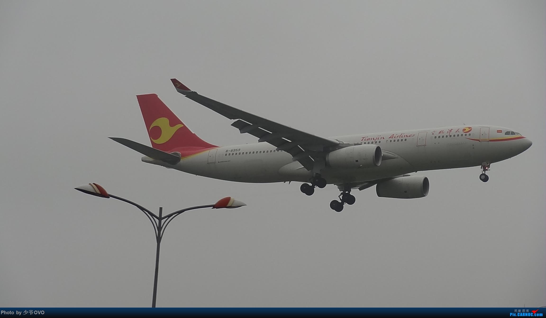 Re:[原创]CKG重庆江北机场拍机 ,渣图一堆,多指点 AIRBUS A330-200 B-8959 中国重庆江北国际机场