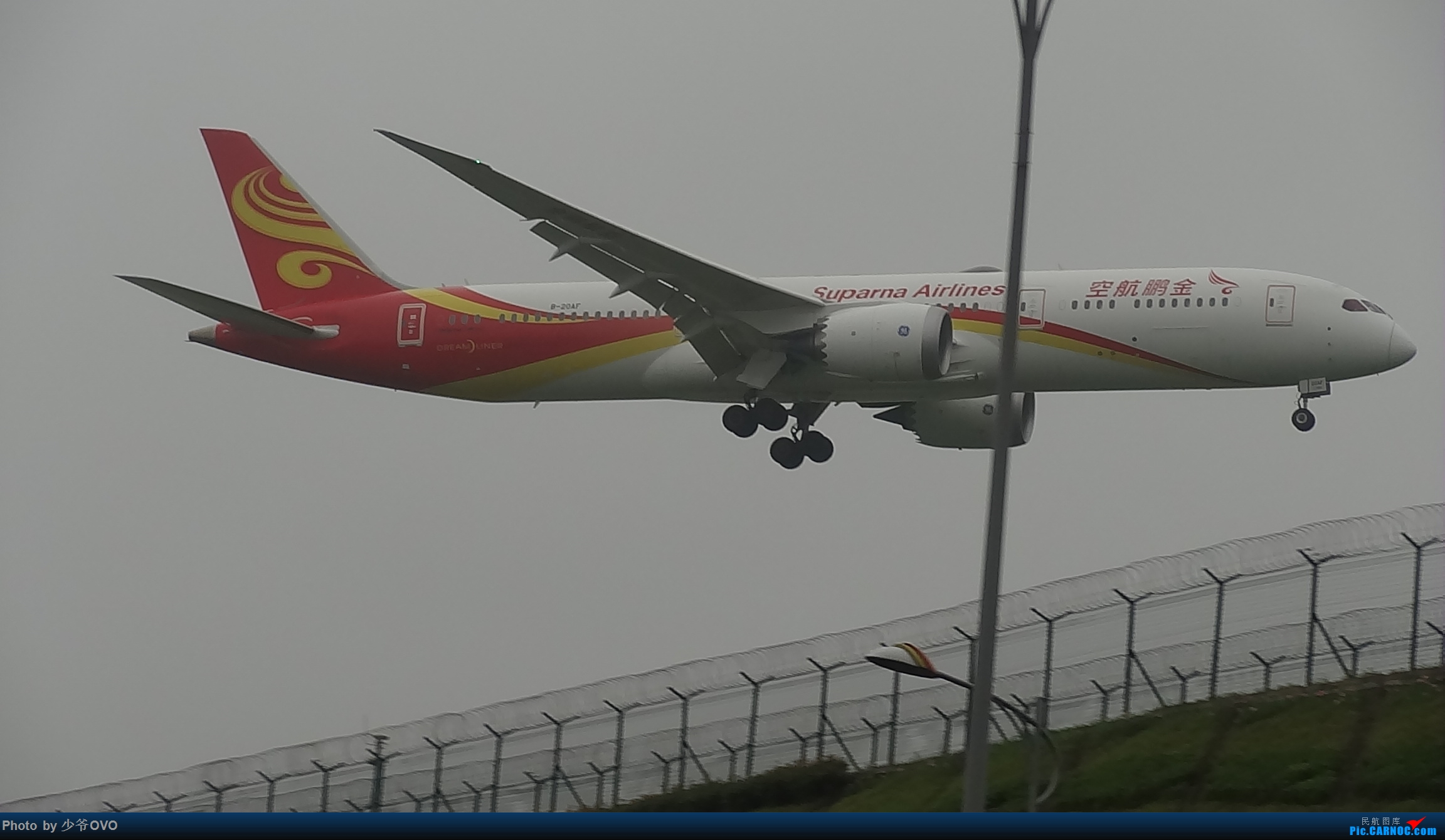 Re:[原创]CKG重庆江北机场拍机 ,渣图一堆,多指点 BOEING 787-9 B-20AF 中国重庆江北国际机场