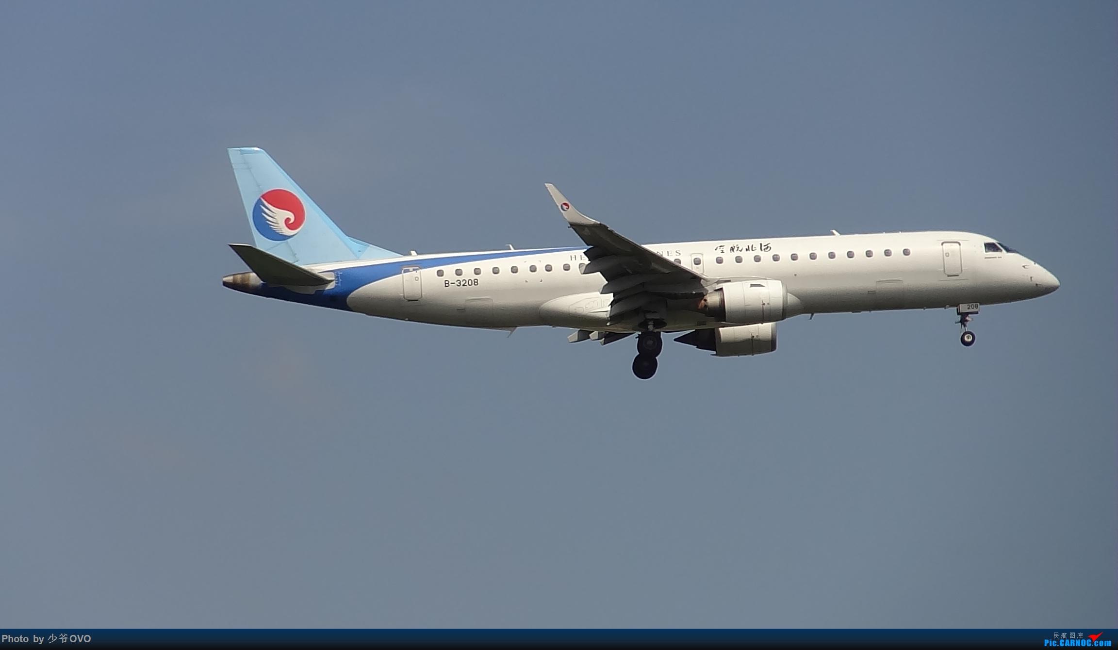 Re:[原创]CKG重庆江北机场拍机 EMBRAER E-190 B-3208 中国重庆江北国际机场