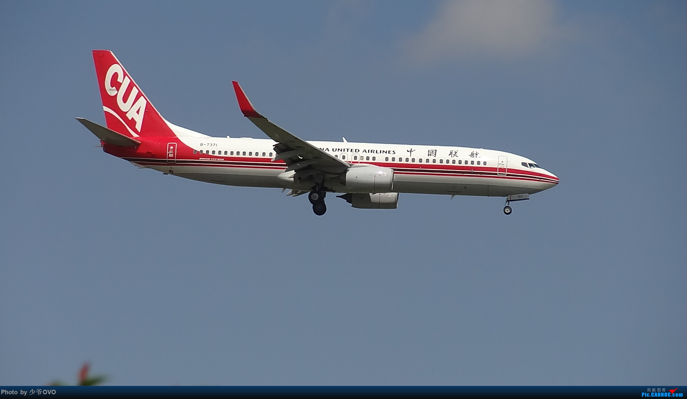 Re:[原创]CKG重庆江北机场拍机 BOEING 737-800 B-7371 中国重庆江北国际机场