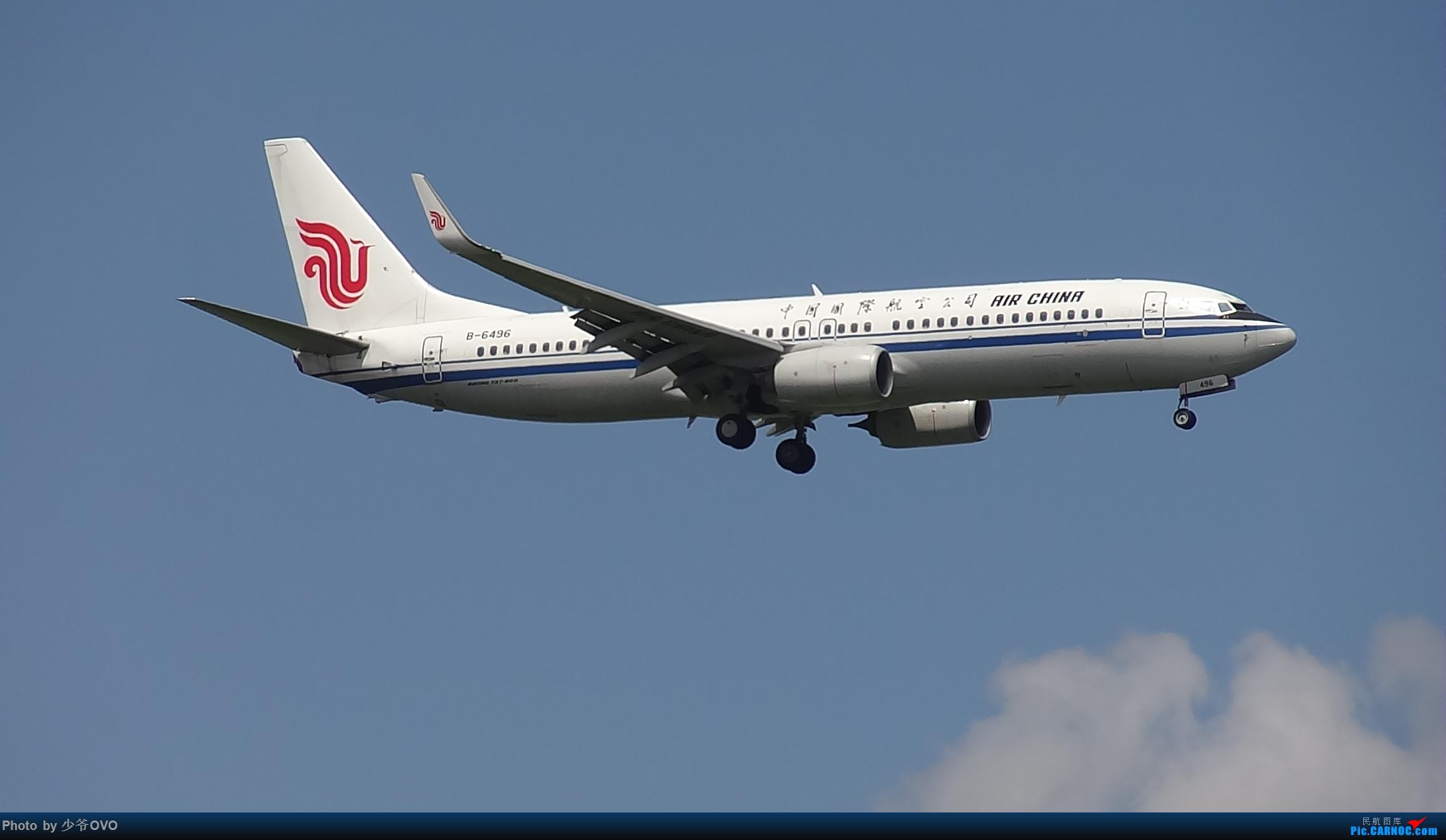 Re:[原创]CKG重庆江北机场拍机 BOEING 737-800 B-6496 中国重庆江北国际机场