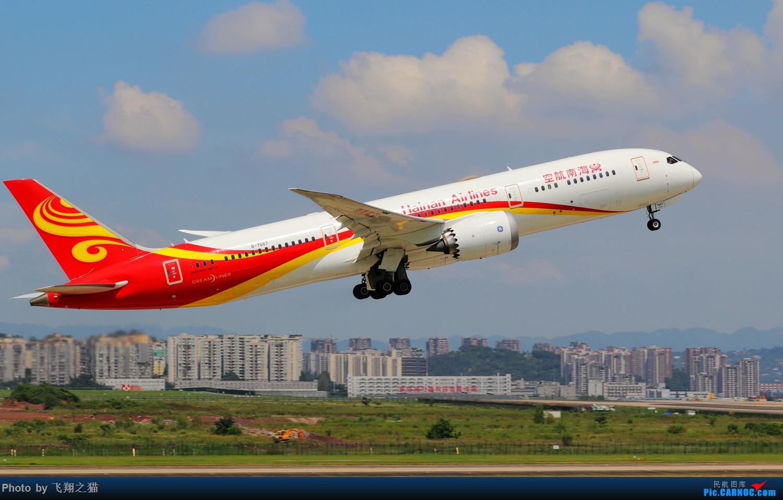 Re:[原创]Re:[原创]CKG拍机(天好,好货,好开心!) BOEING 787-9 B-7667 重庆江北国际机场
