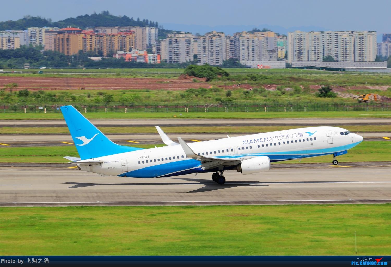 Re:[原创]Re:[原创]CKG拍机(天好,好货,好开心!) BOEING 737-800 B-7848 重庆江北国际机场