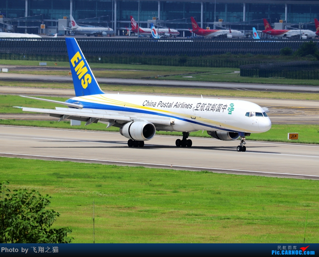Re:[原创]Re:[原创]CKG拍机(天好,好货,好开心!) BOEING 757-200F  重庆江北国际机场