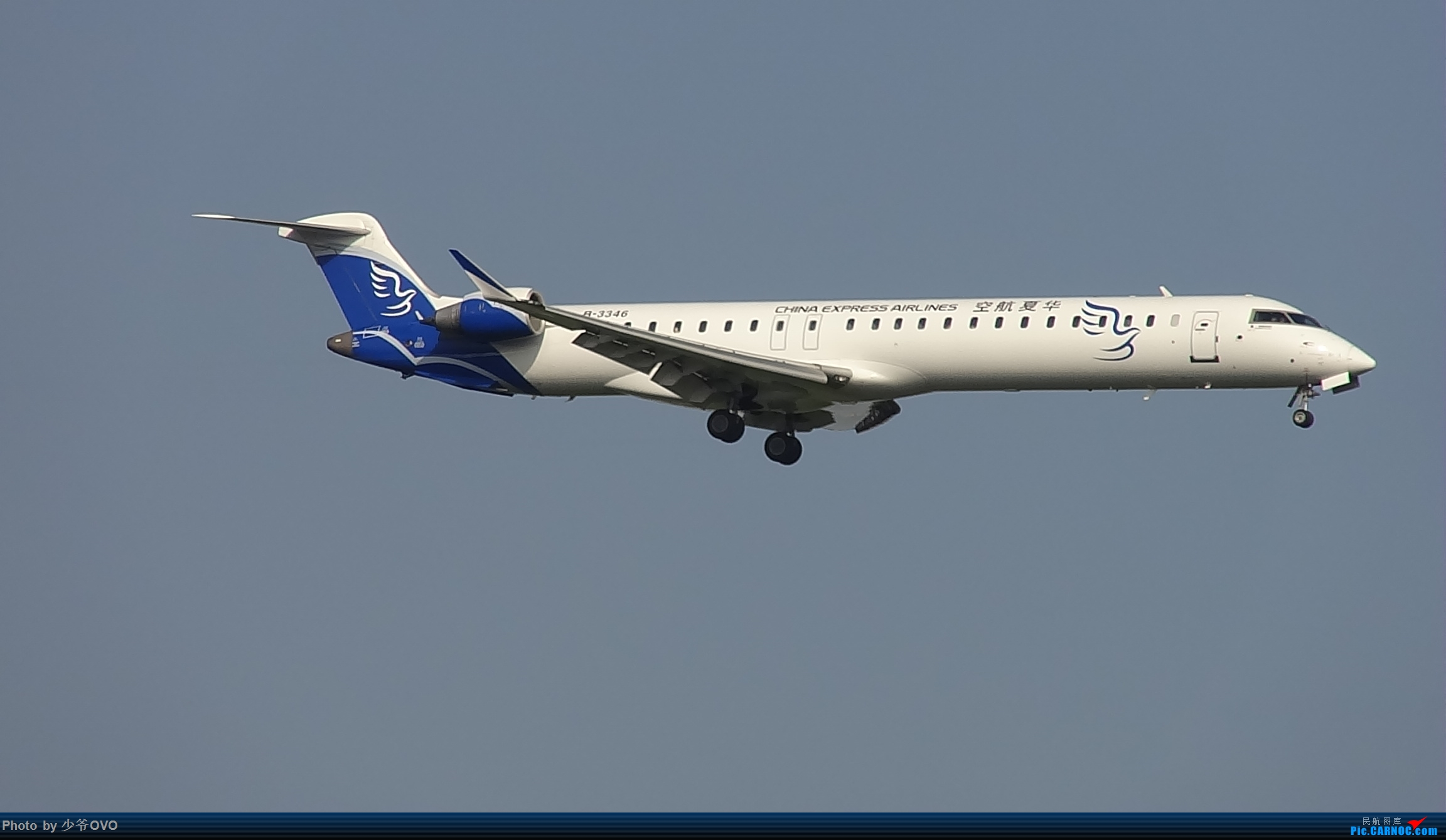 Re:[原创]CKG重庆江北机场拍机 BOMBARDIER CRJ900NG B-3346 中国重庆江北国际机场