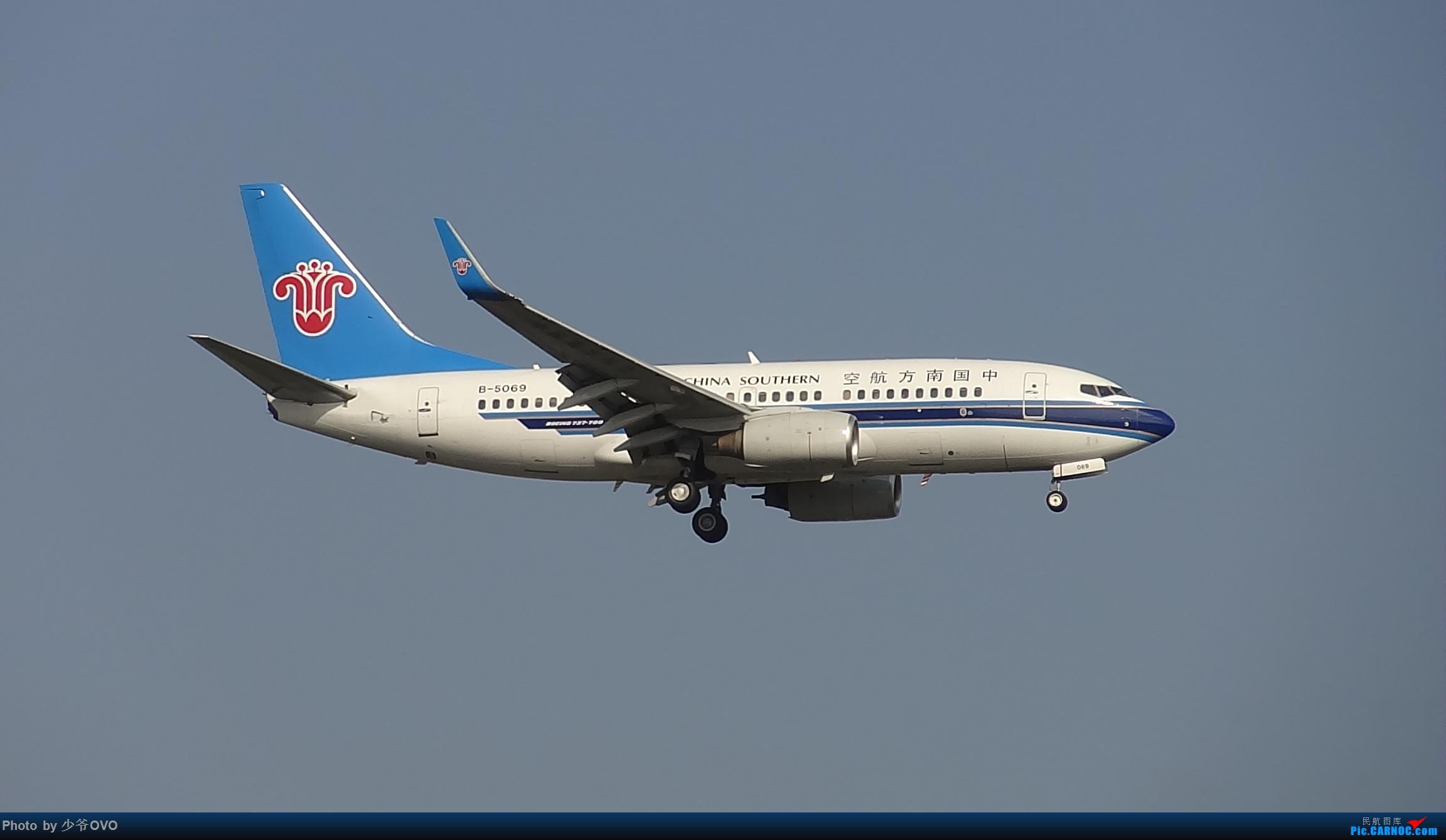 Re:[原创]CKG重庆江北机场拍机 BOEING 737-700 B-5069 中国重庆江北国际机场