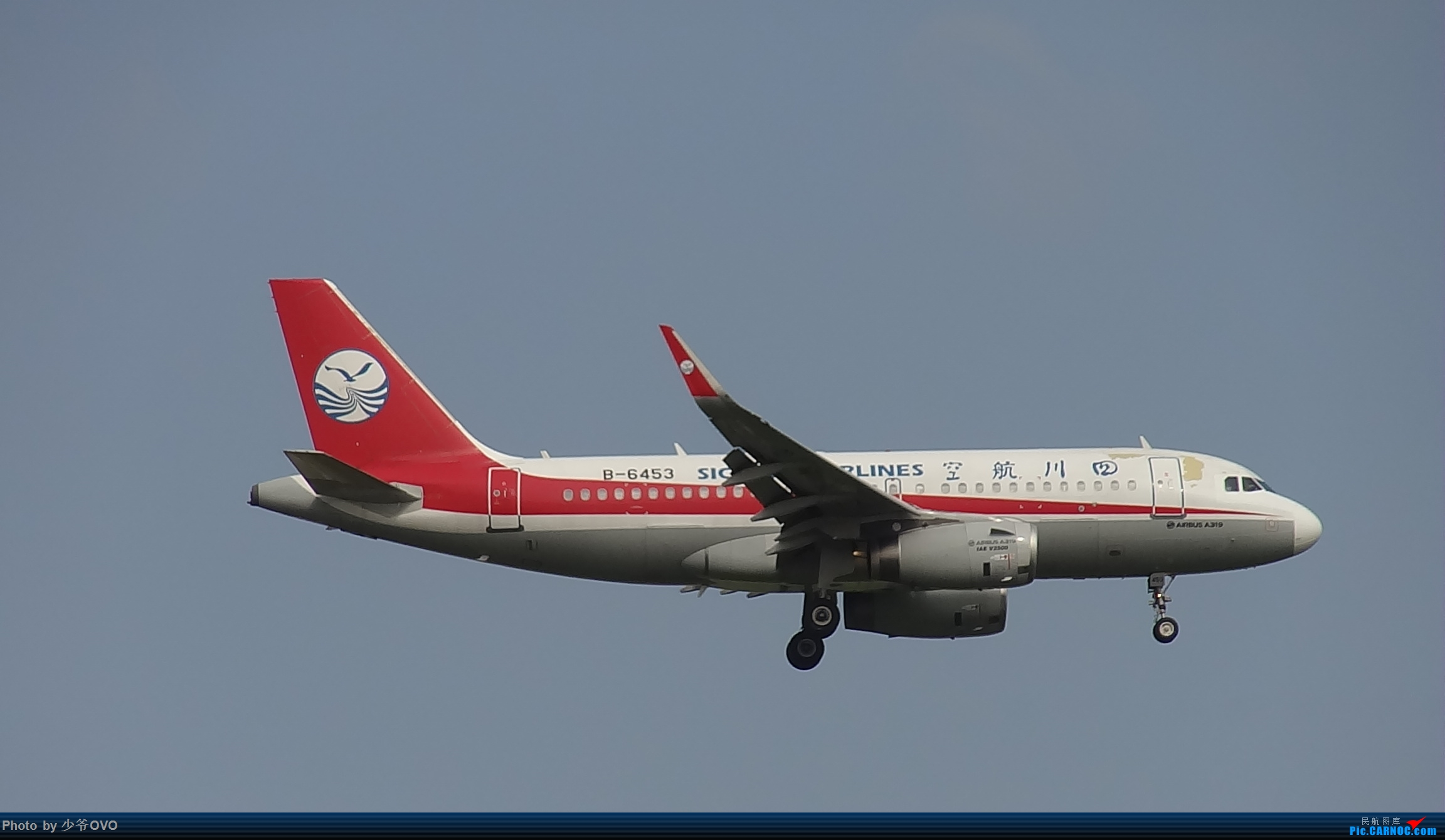 Re:[原创]CKG重庆江北机场拍机 AIRBUS A319-100 B-6453 中国重庆江北国际机场