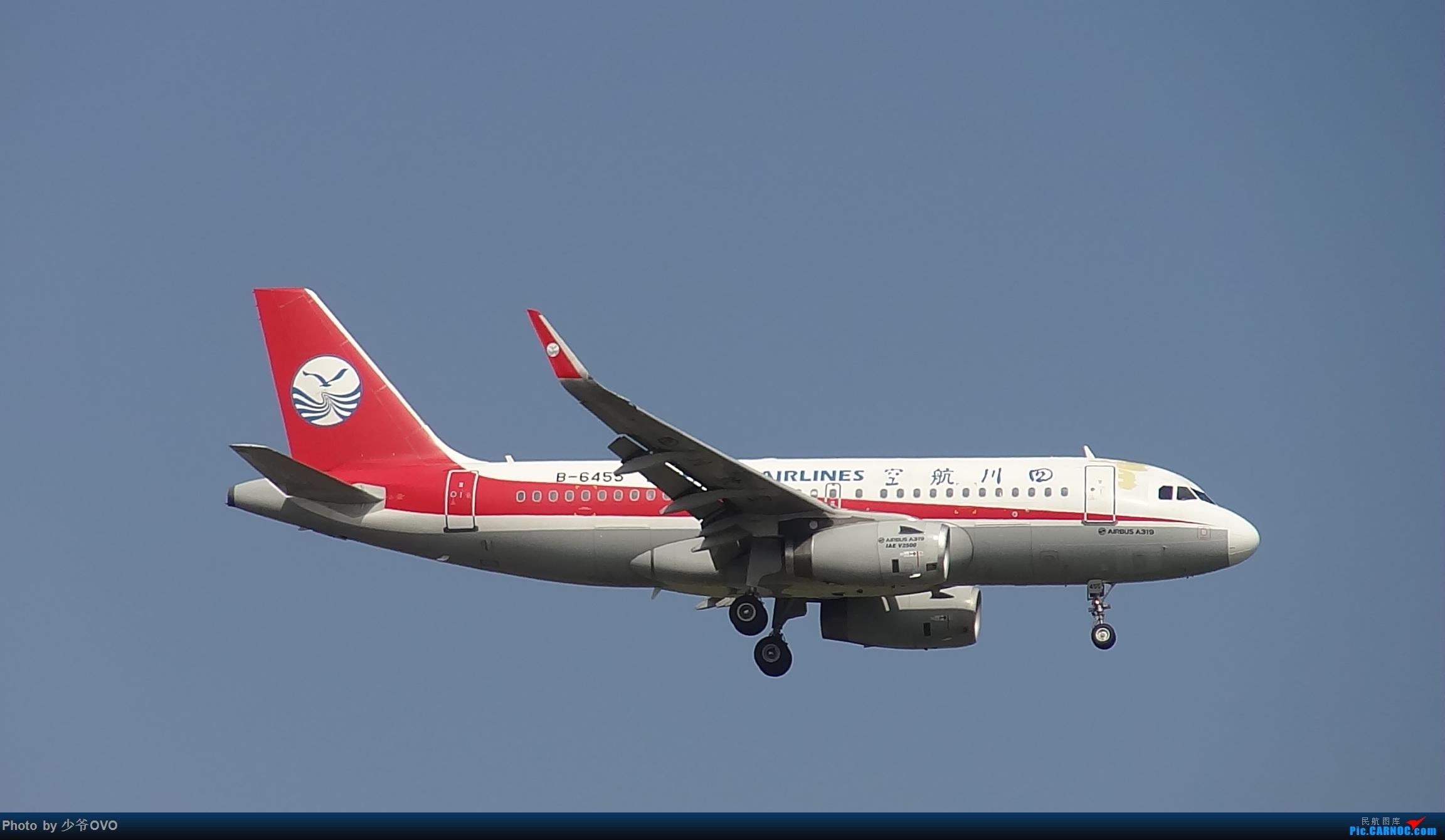 Re:[原创]CKG重庆江北机场拍机 AIRBUS A319-100 B-6455 中国重庆江北国际机场