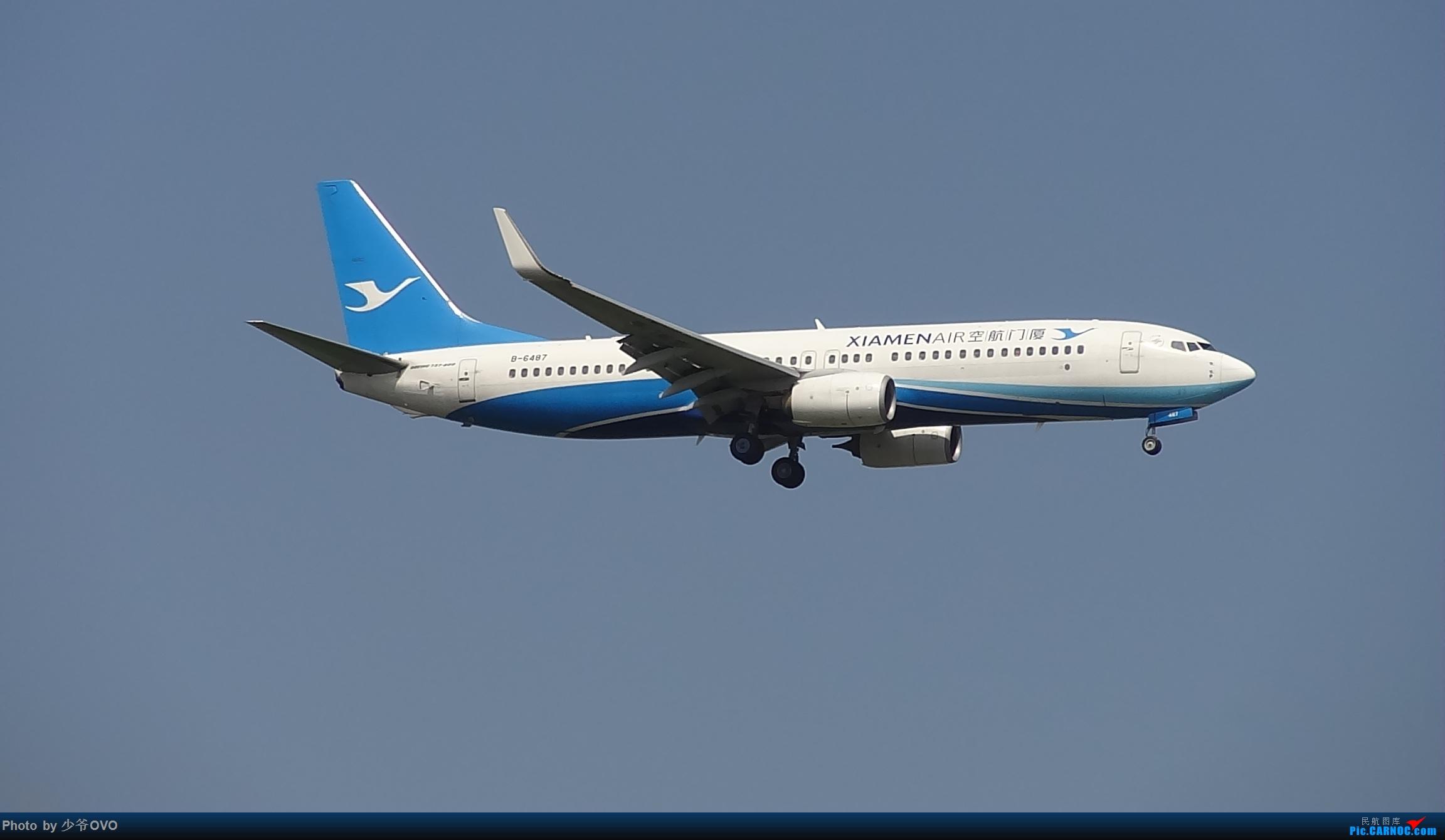 Re:[原创]CKG重庆江北机场拍机 BOEING 737-800 B-6487 中国重庆江北国际机场