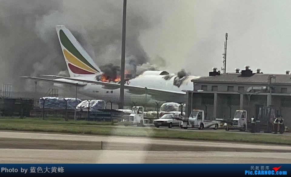 [转贴]全球第一架报废的77F BOEING 777F ET-ARH 中国上海浦东国际机场