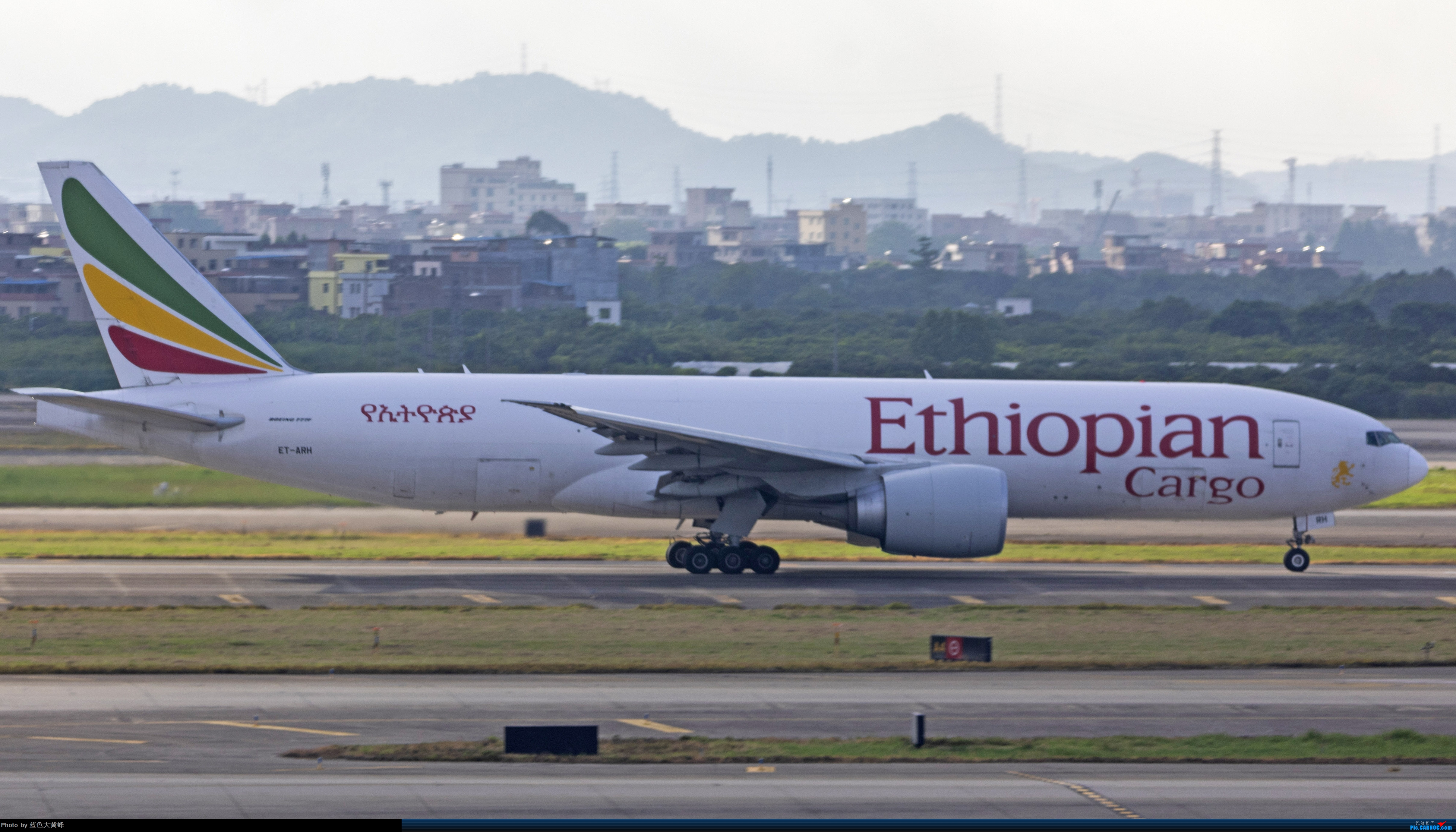 Re:全球第一架报废的77F BOEING 777F ET-ARH 中国上海浦东国际机场